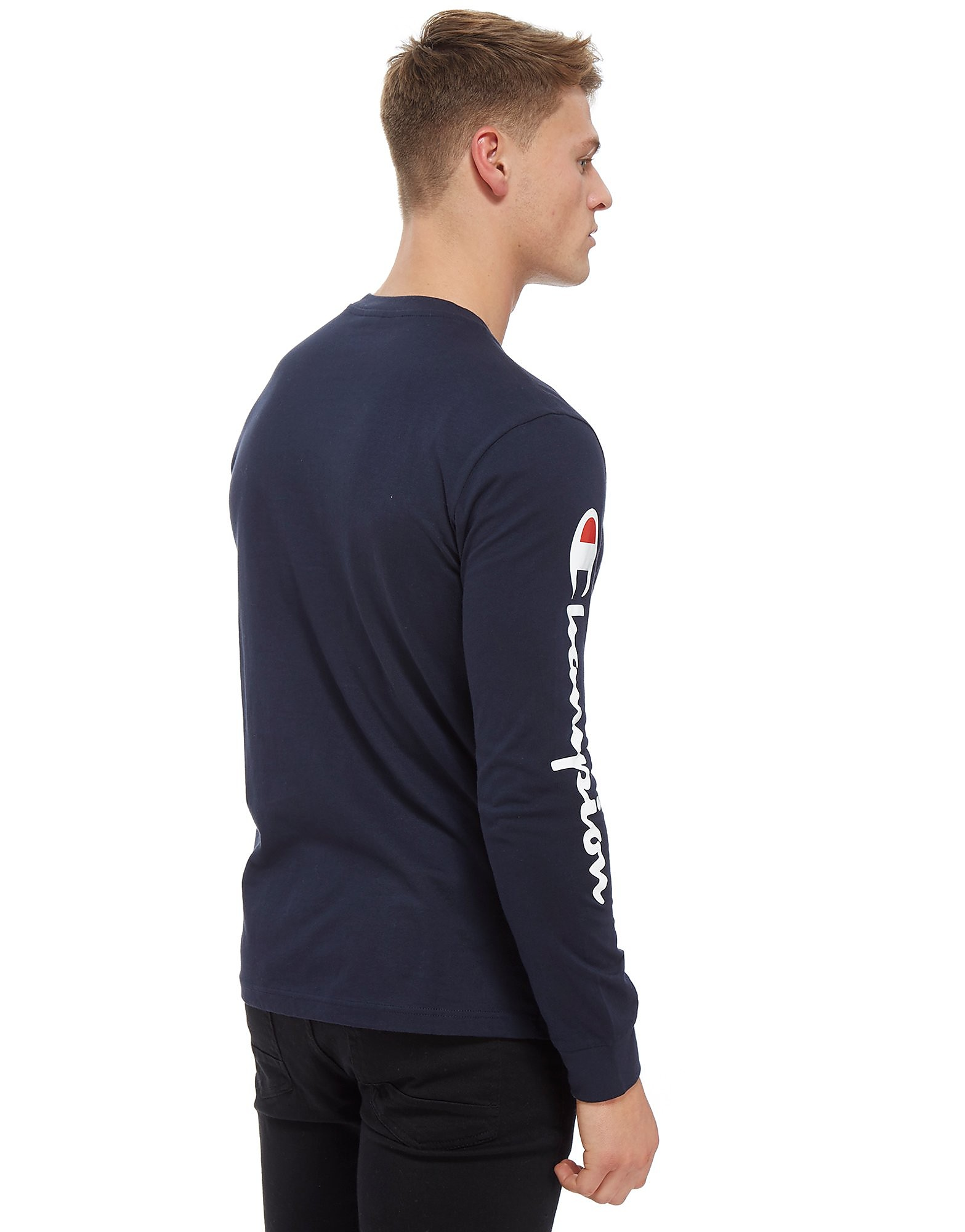 Champion Long Sleeve Logo T-Shirt
