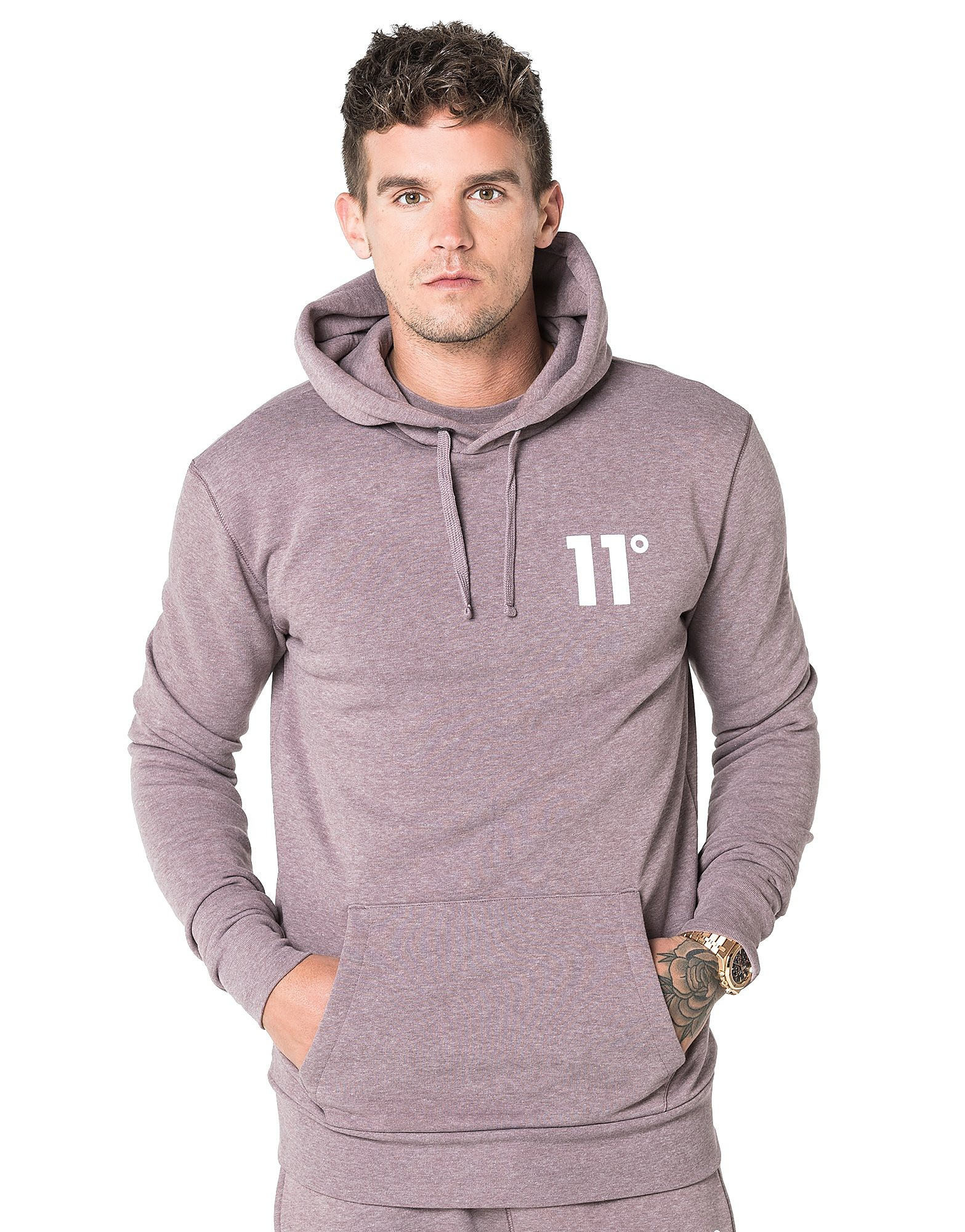 11 Degrees Core Fleece Overhead Hoody