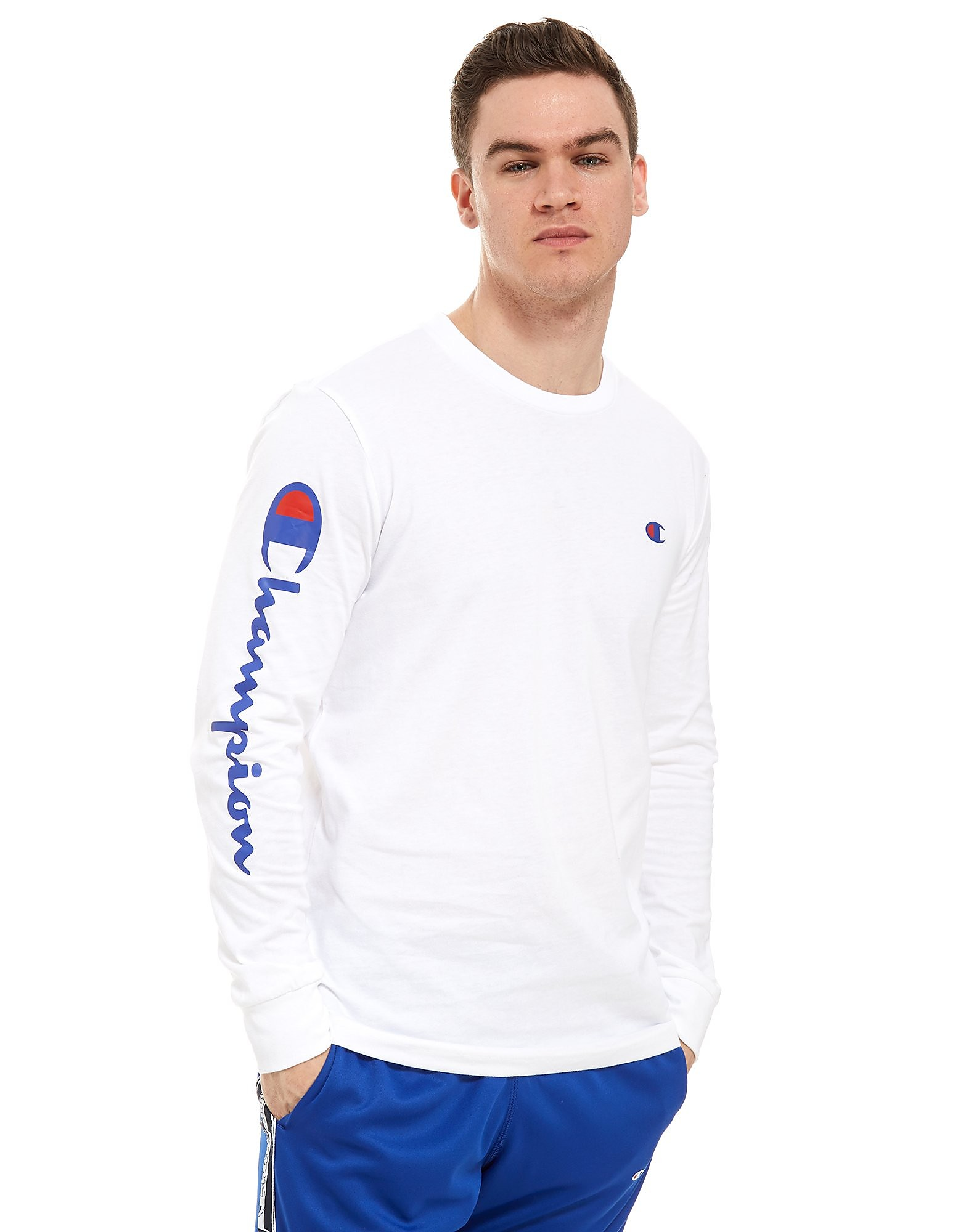 Champion camiseta de manga larga Logo