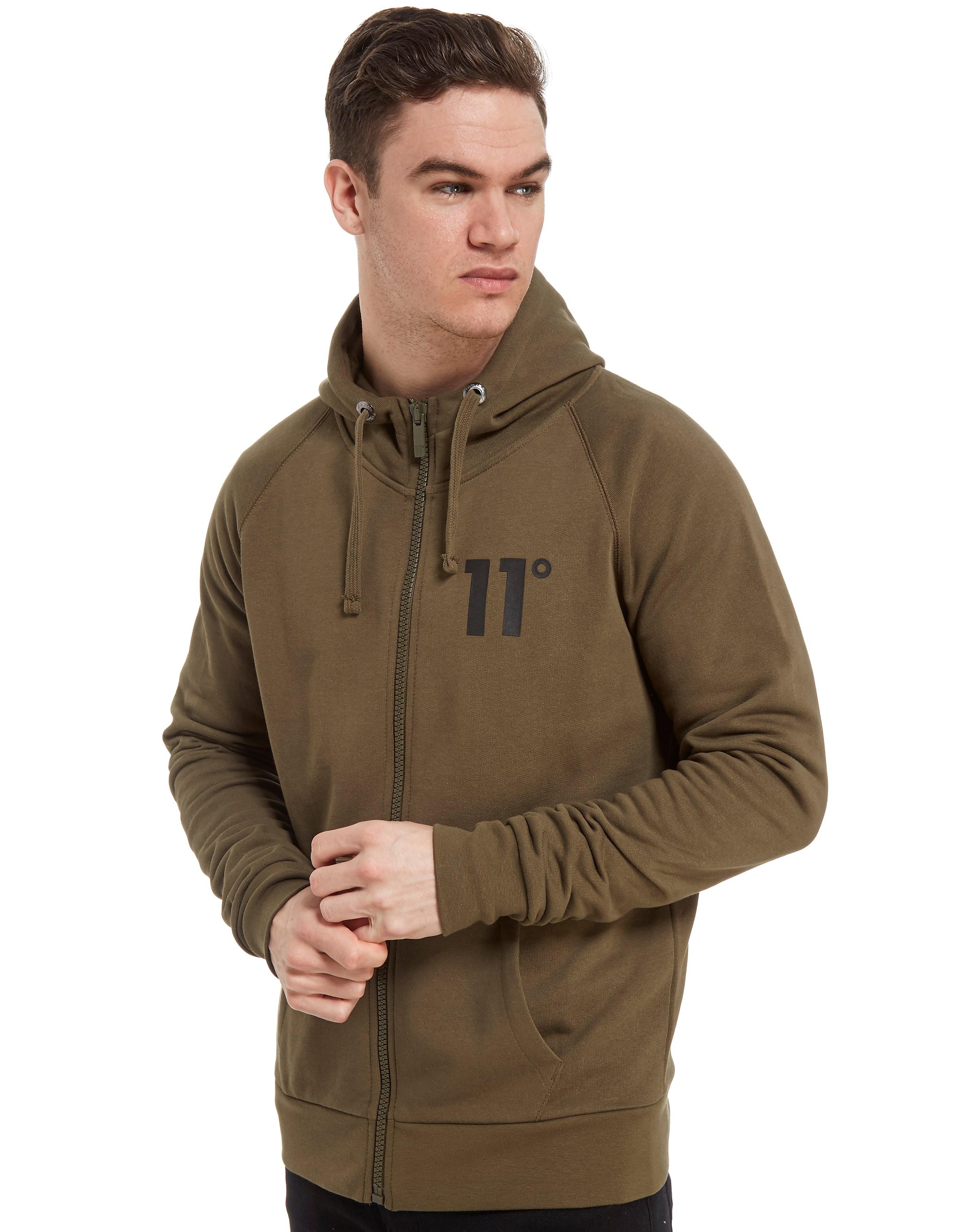 11 Degrees Core Fleece Zip Through Hoody