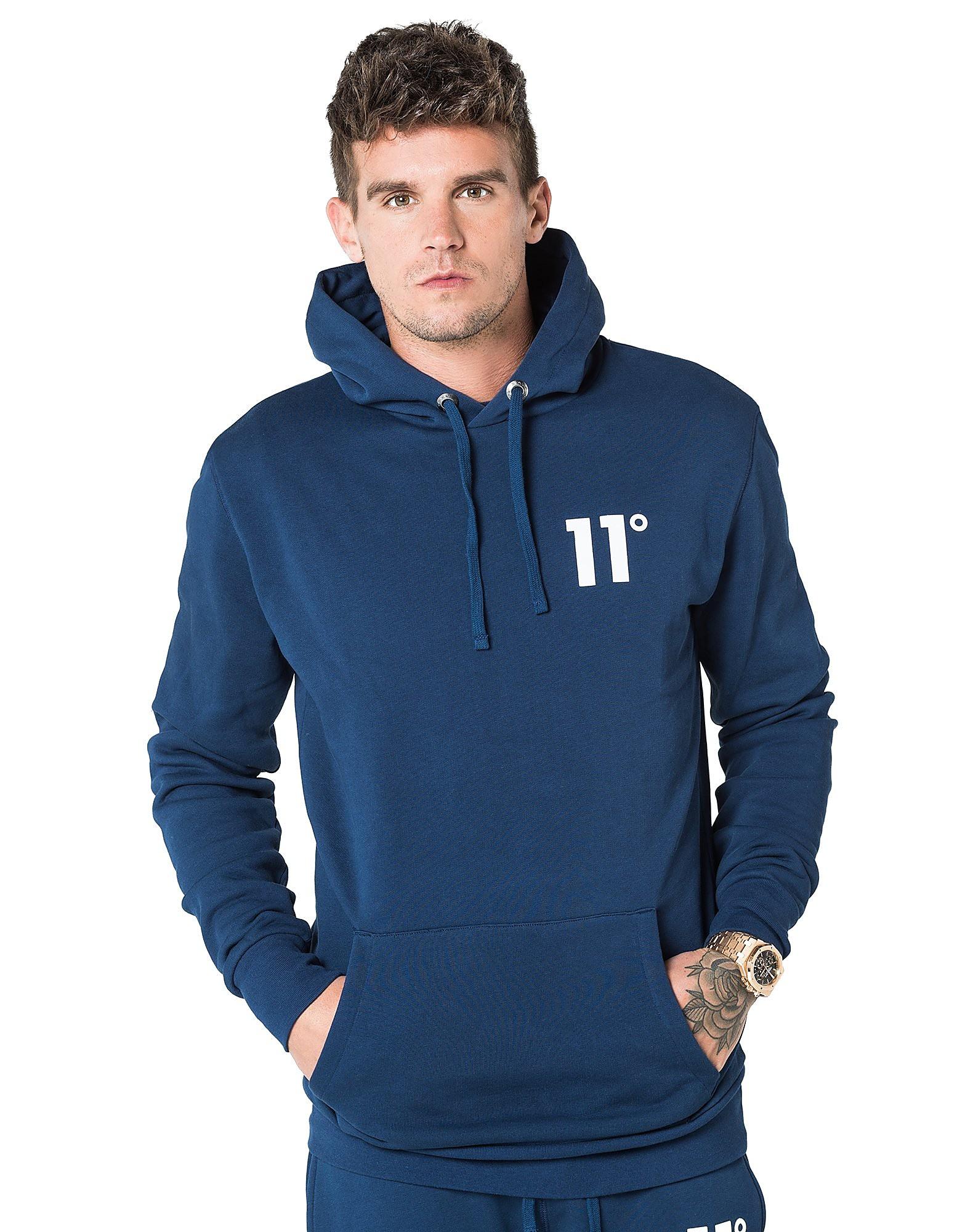 11 Degrees Core Fleece Overhead Hoody