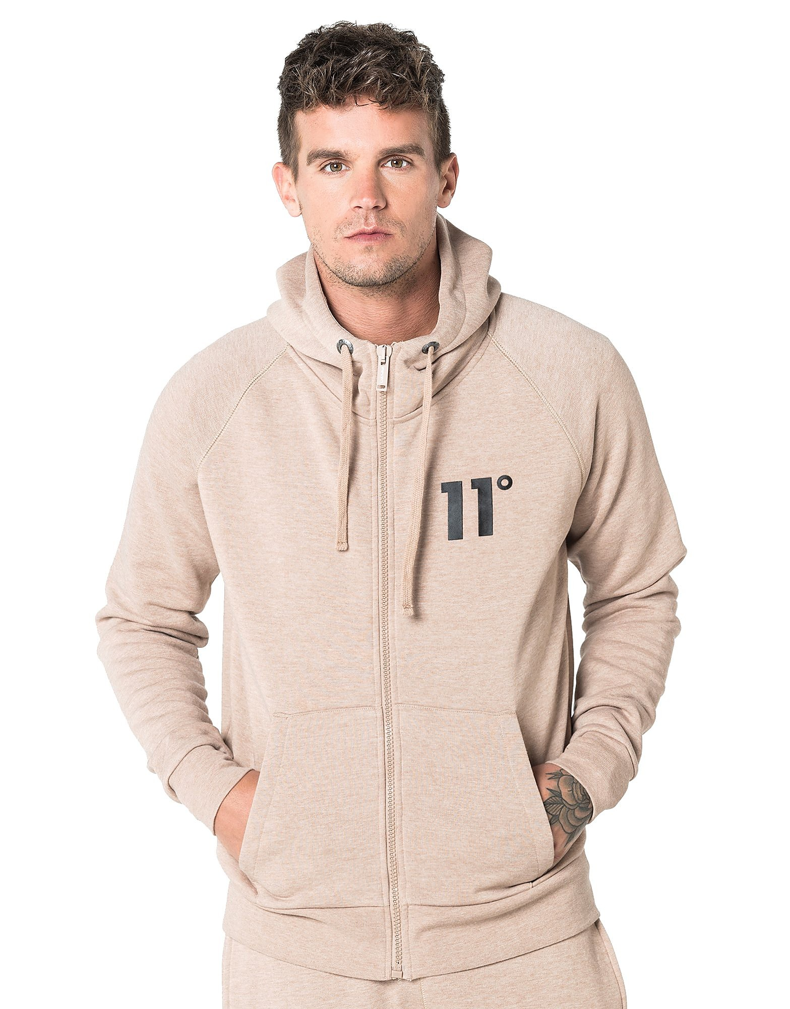 Image de 11 Degrees Sweat Core Homme - Tan, Tan