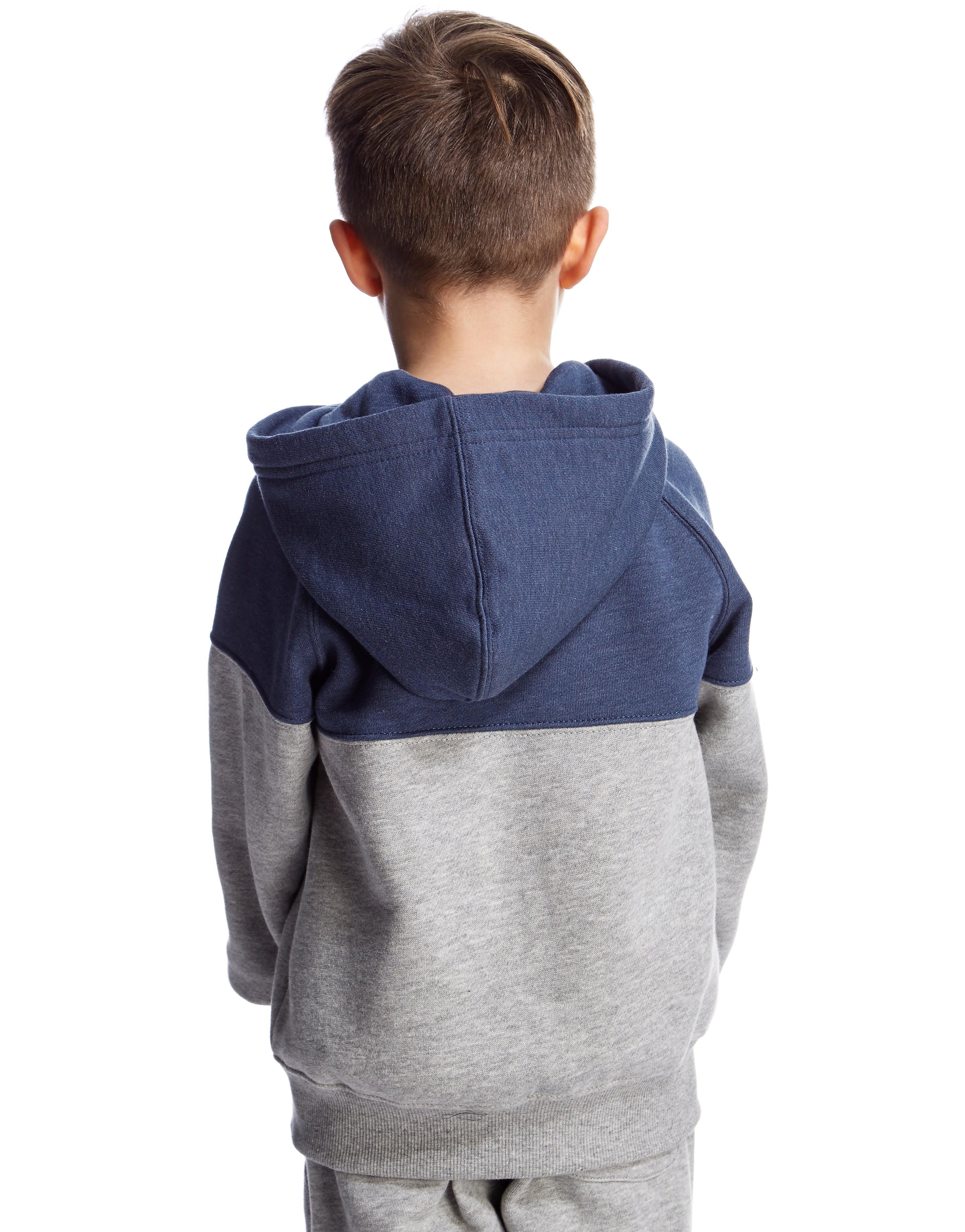 Converse Colour Block Full Zip Hoody Children