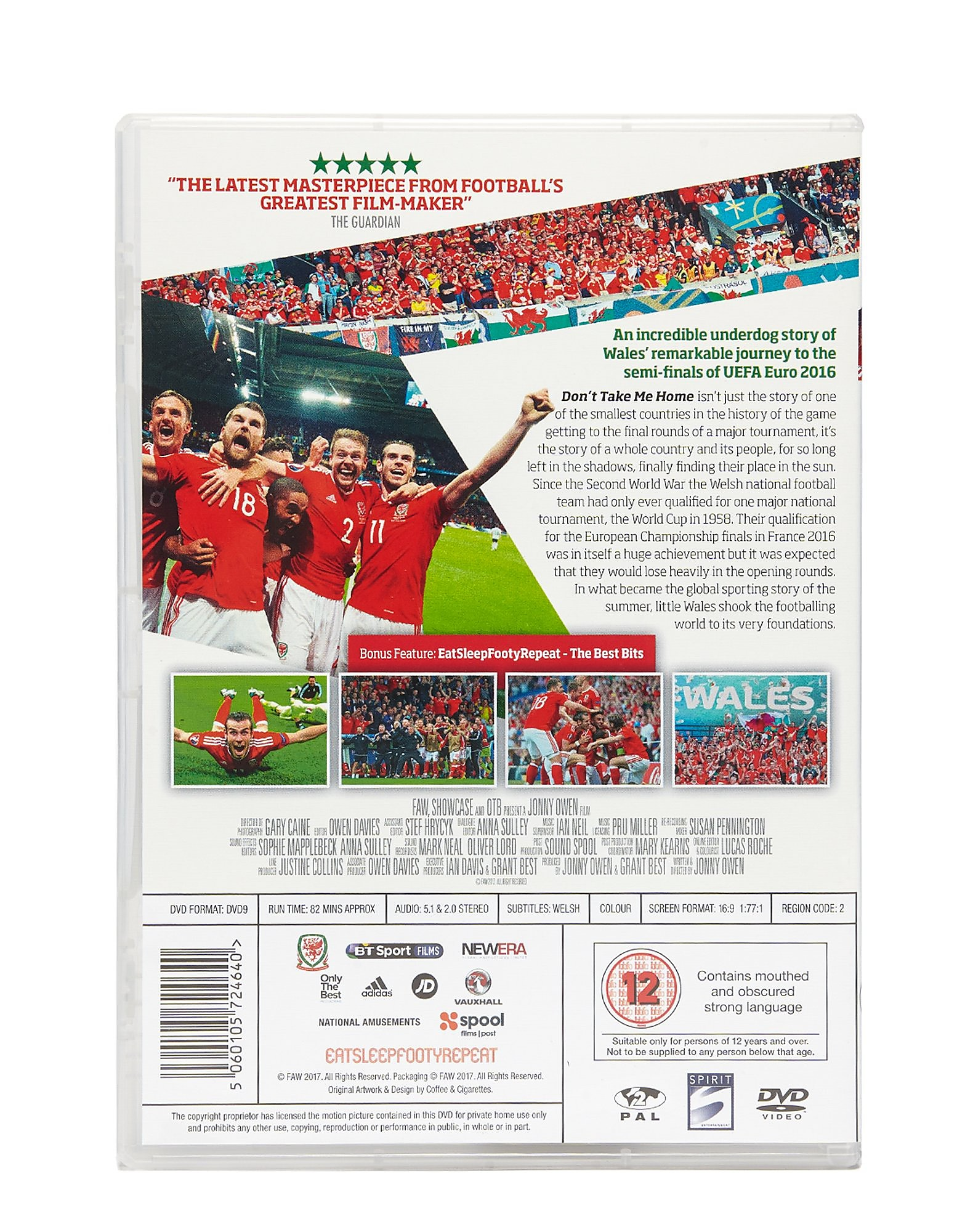 Spirit Entertainment Don't Take Me Home DVD