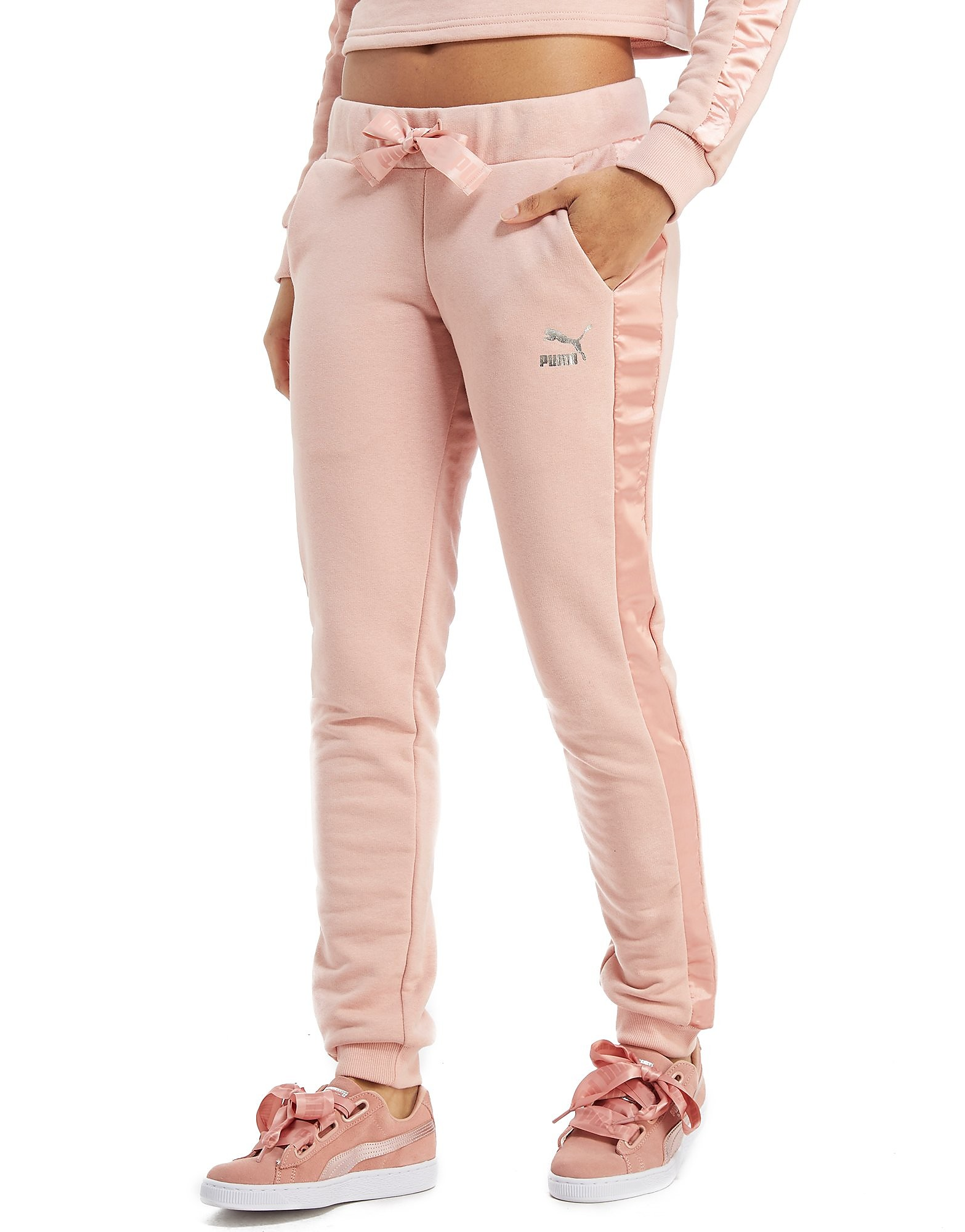 PUMA Bow Fleece Pants Dames