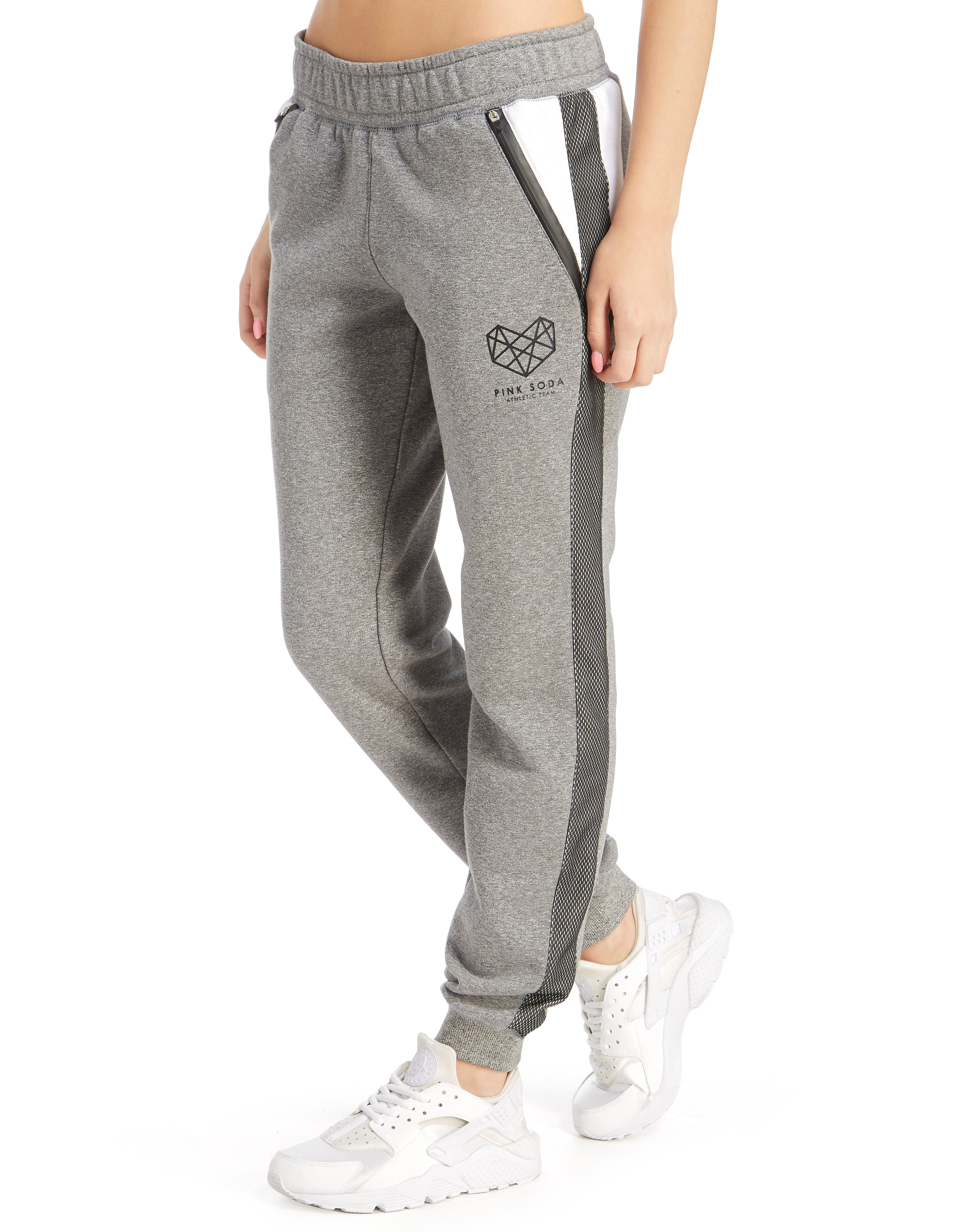 Pink Soda Sport Panel Joggers