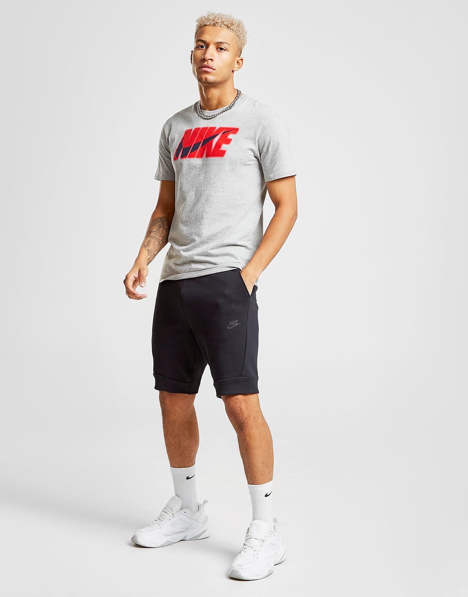 Nike Tech Fleece Shorts Black Mens Sports King Store