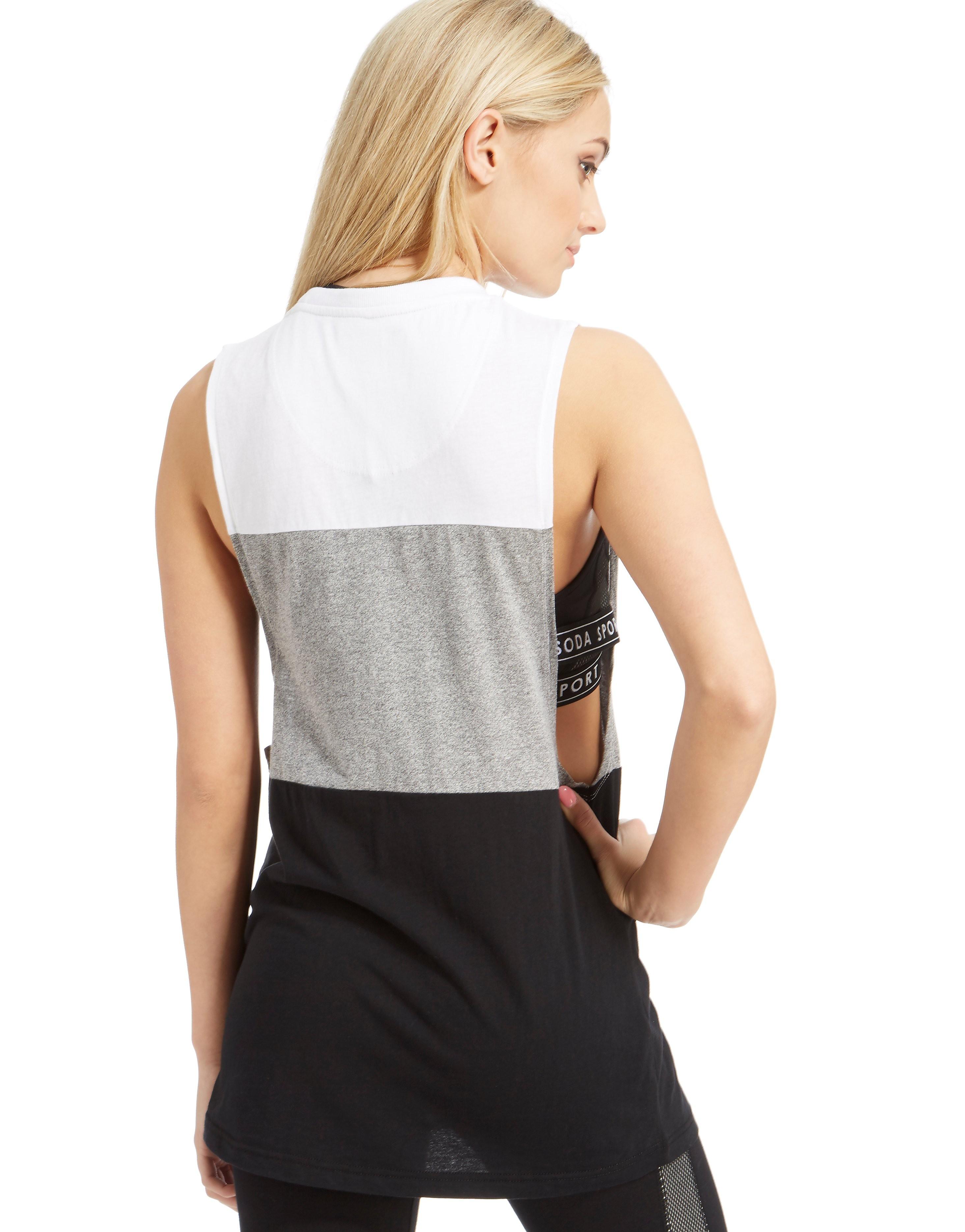 Pink Soda Sport Three Panel Vest