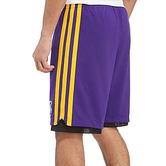 adidas Hoops Los Angeles Lakers Shorts
