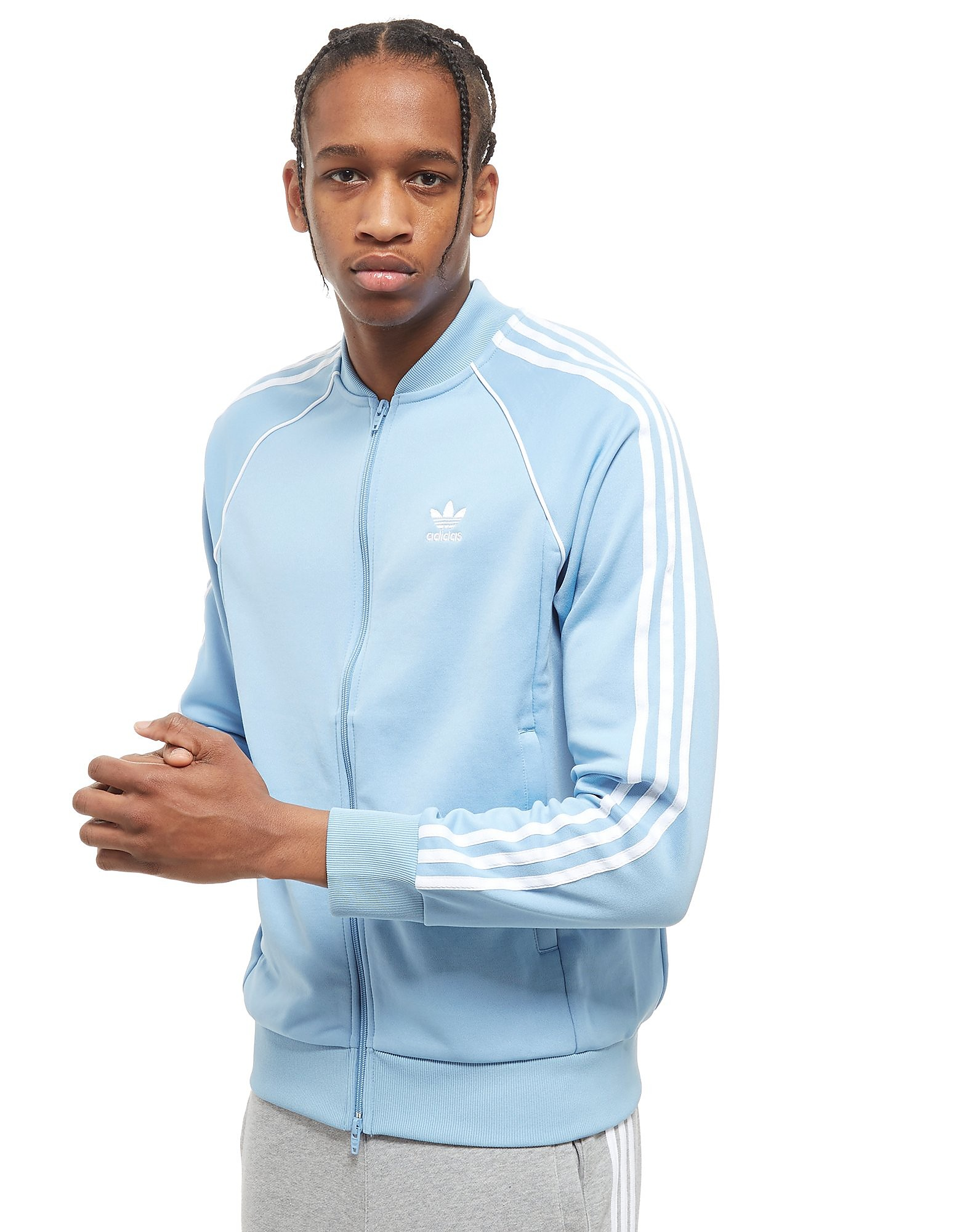 adidas Originals chaqueta de chándal Superstar Full Zip