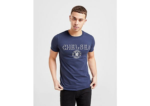 Official Team camiseta Chelsea FC Badge, Navy