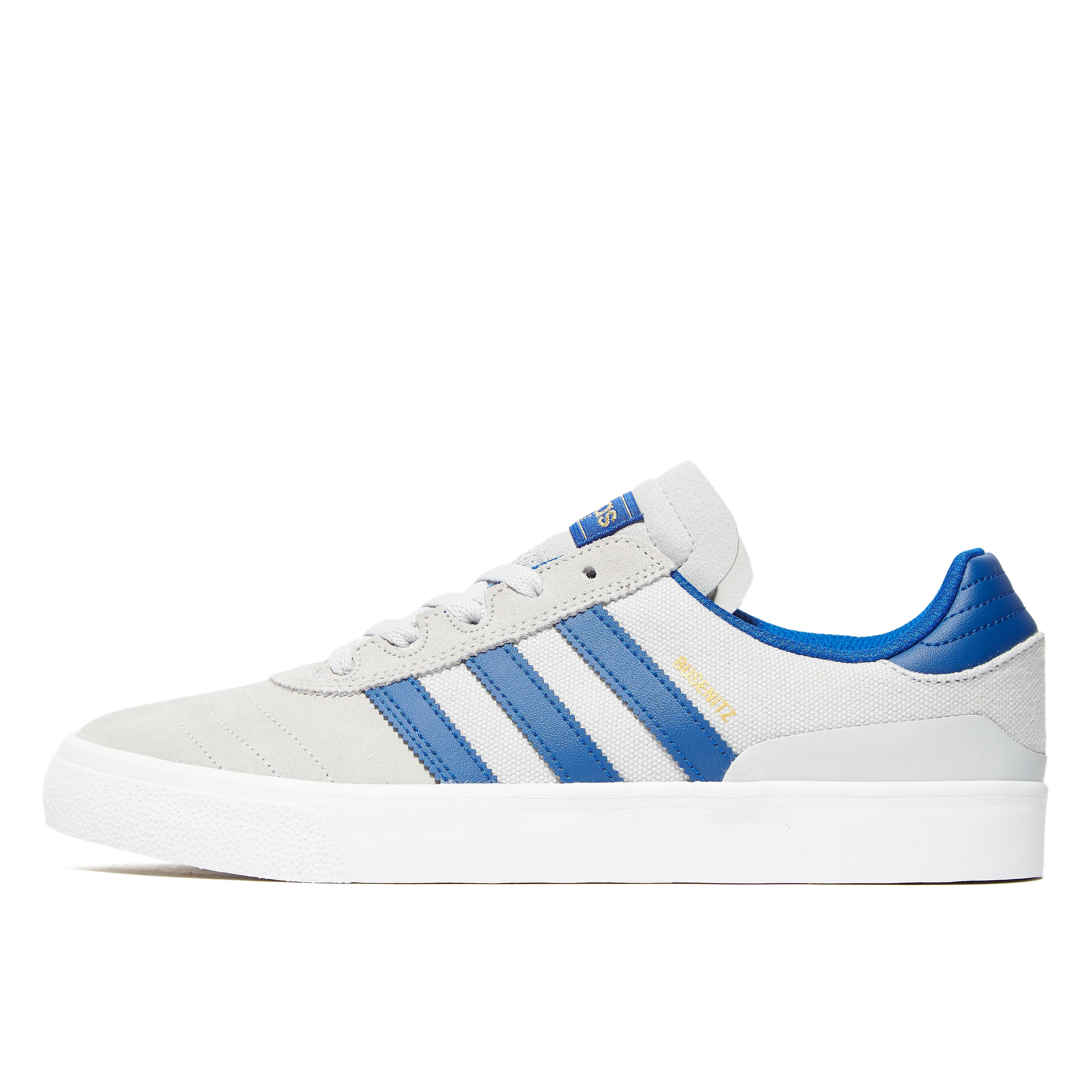 adidas Originals Busenitz Vulc Grau-Blau
