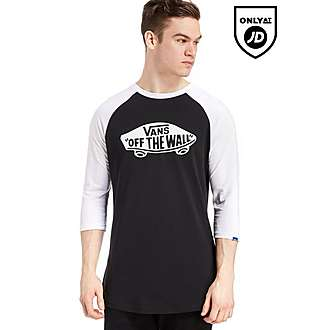 Vans Off The Wall 3/4 Raglan Shirt