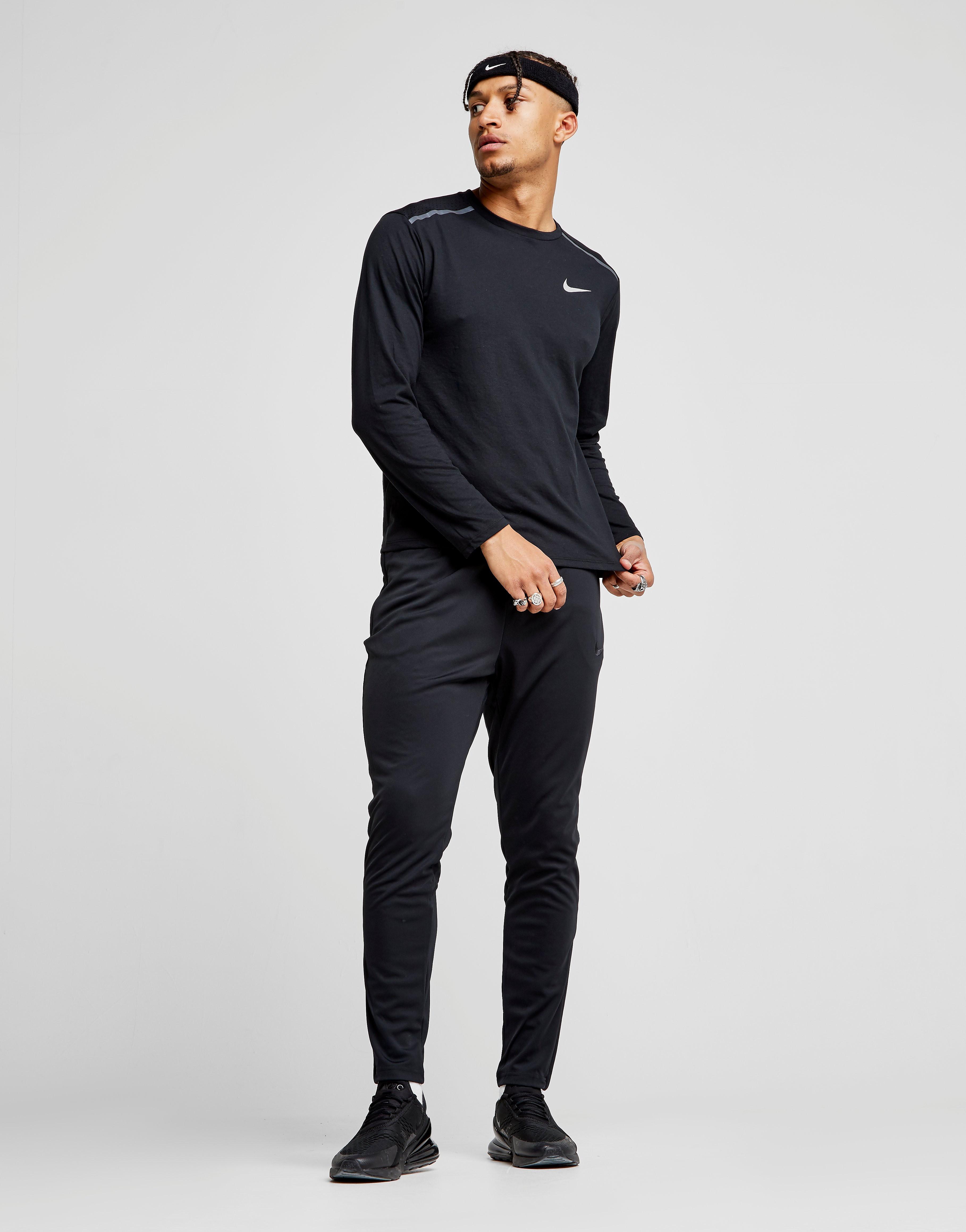 Nike Breathe Tailwind Long Sleeve Top Heren