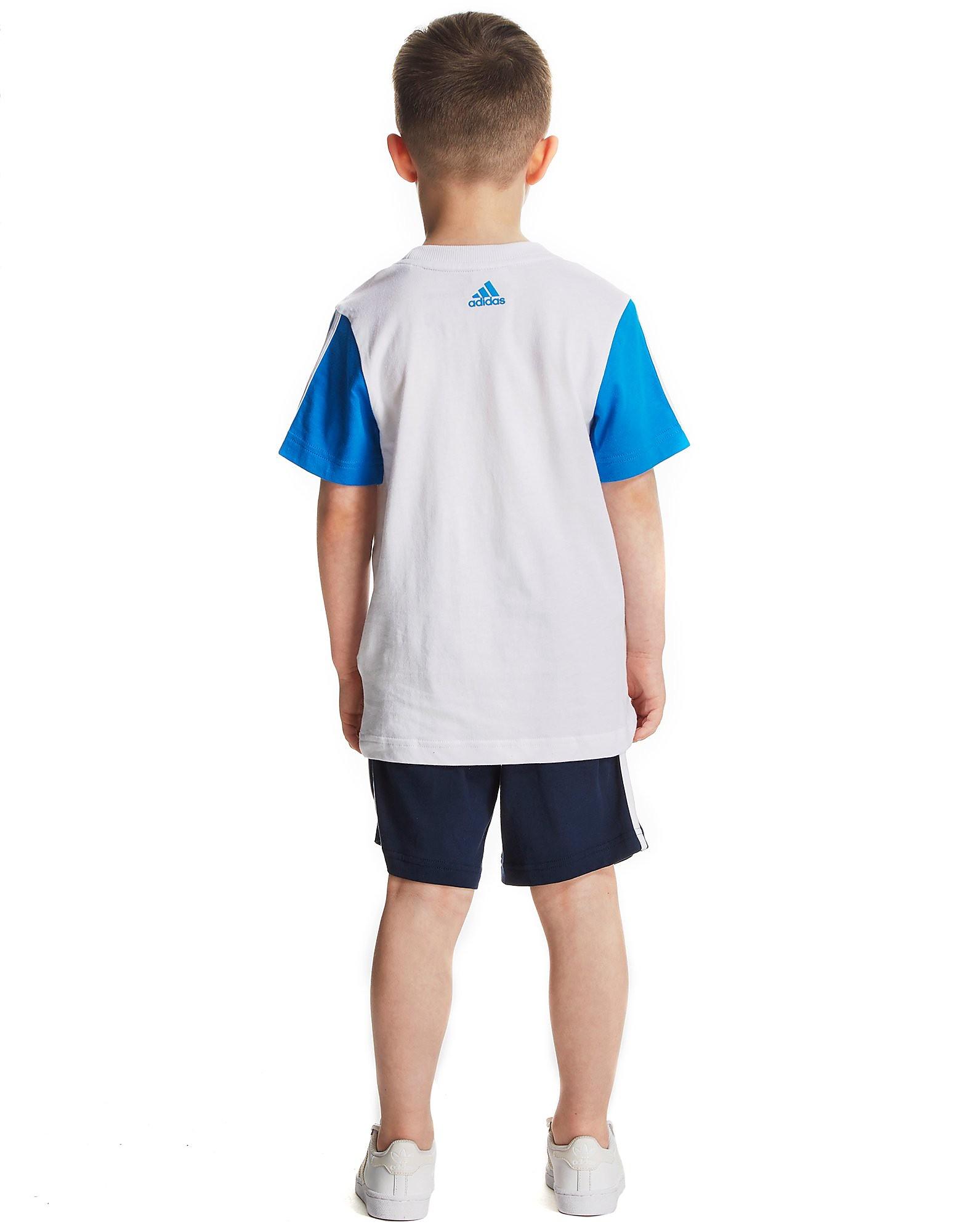 adidas Linear T-Shirt and Short Set Children