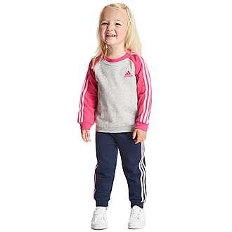 adidas Girls Jogger Suit Infant