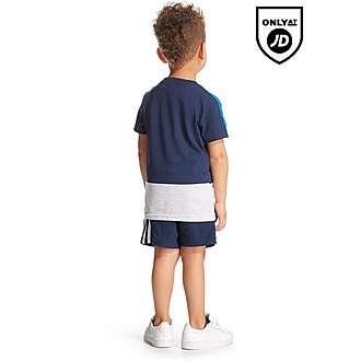 adidas Linear Colour Block T-Shirt Infant