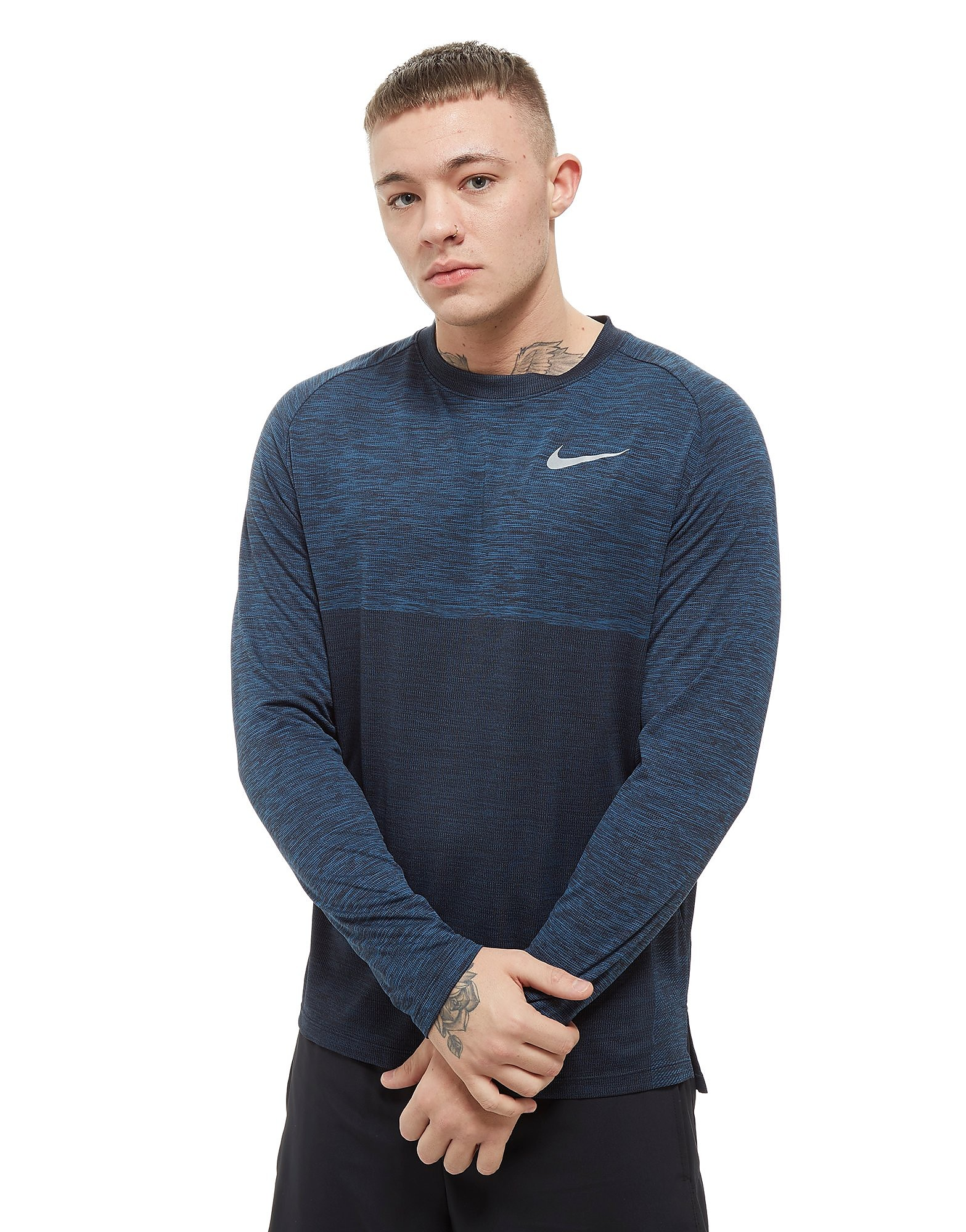 Nike Dry Medalist Long Sleeve Top