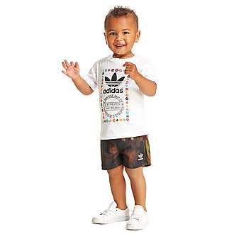 adidas Originals Pharrel T-Shirt and Shorts Set Infant