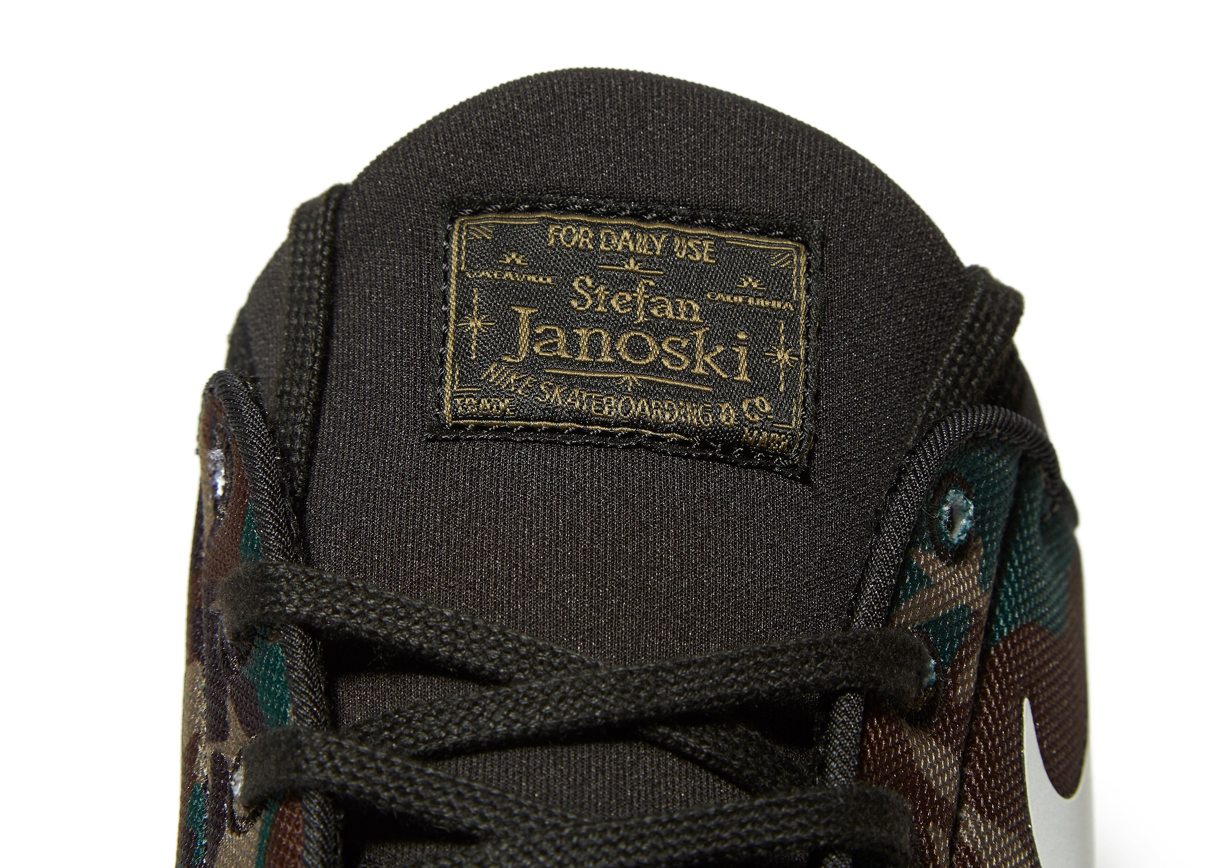 Nike SB Stefan Janoski Max Schwarz-Tarnfarbe