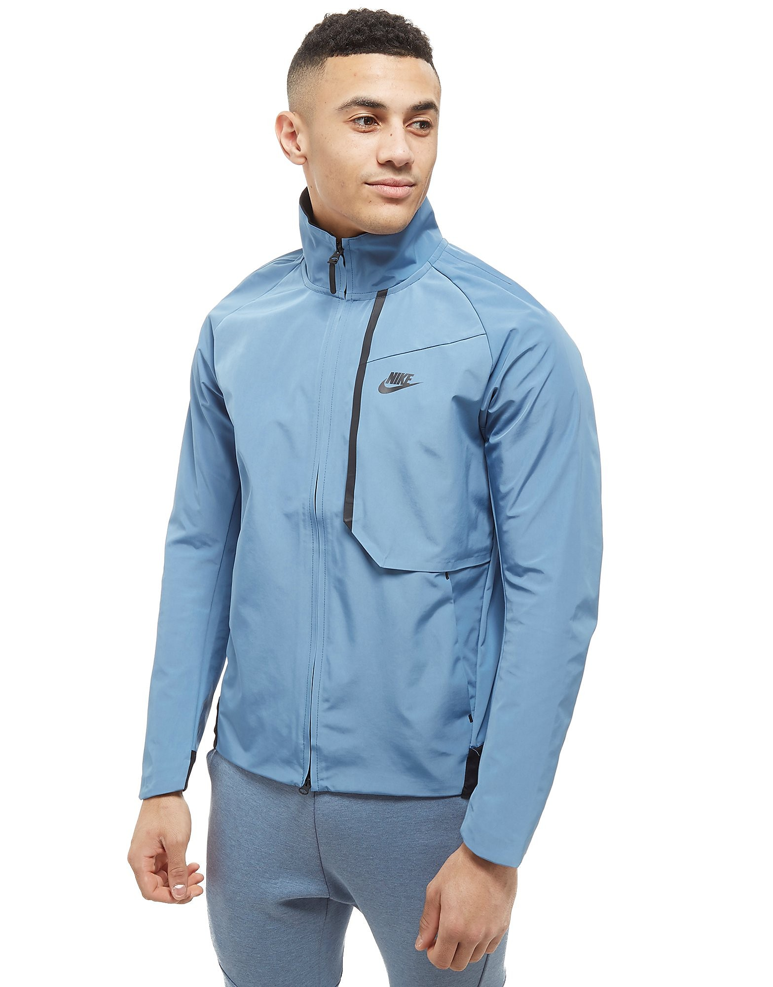 Nike Tech Woven Track Jacket Heren - Blauw - Heren