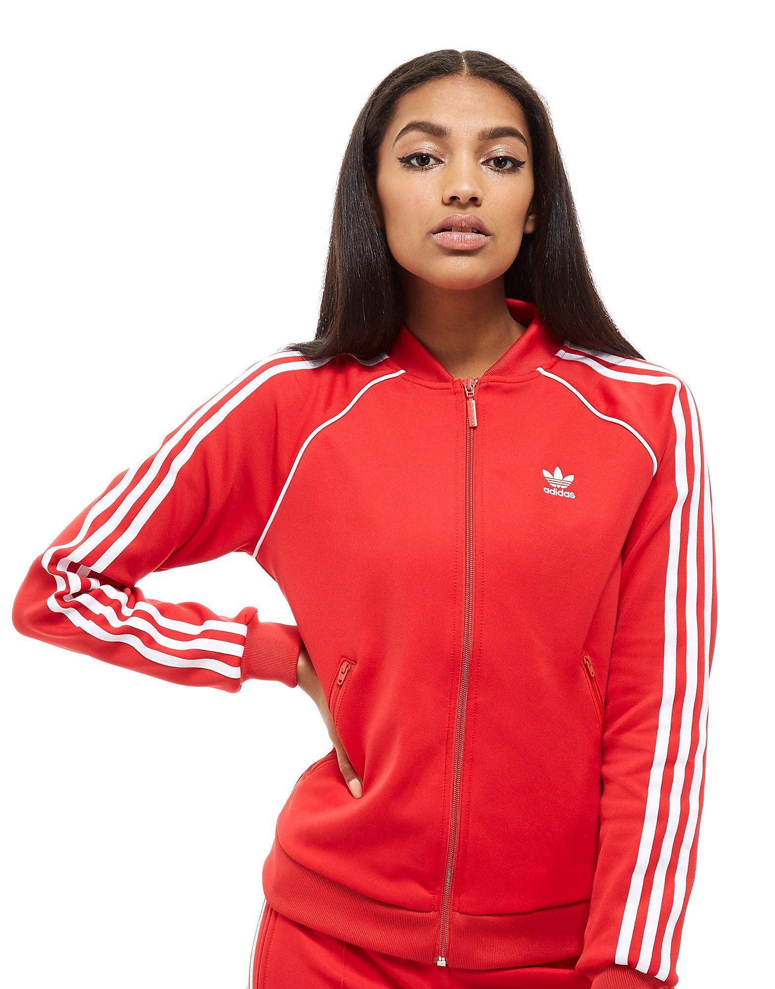 adidas Originals Veste zippée Superstar Femme
