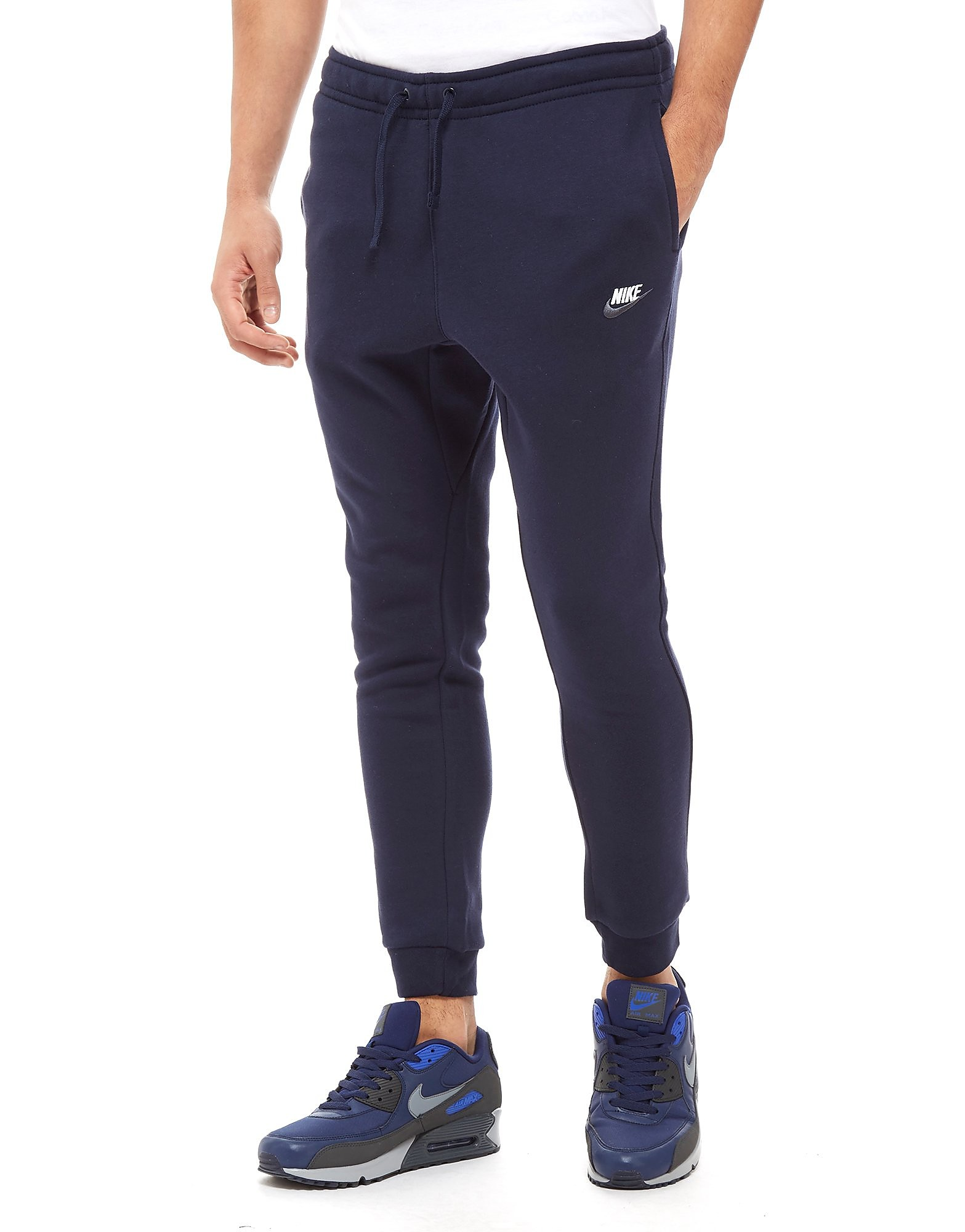 Nike Foundation Fleece Pants Heren - alleen bij JD - Obsidian/White - Heren