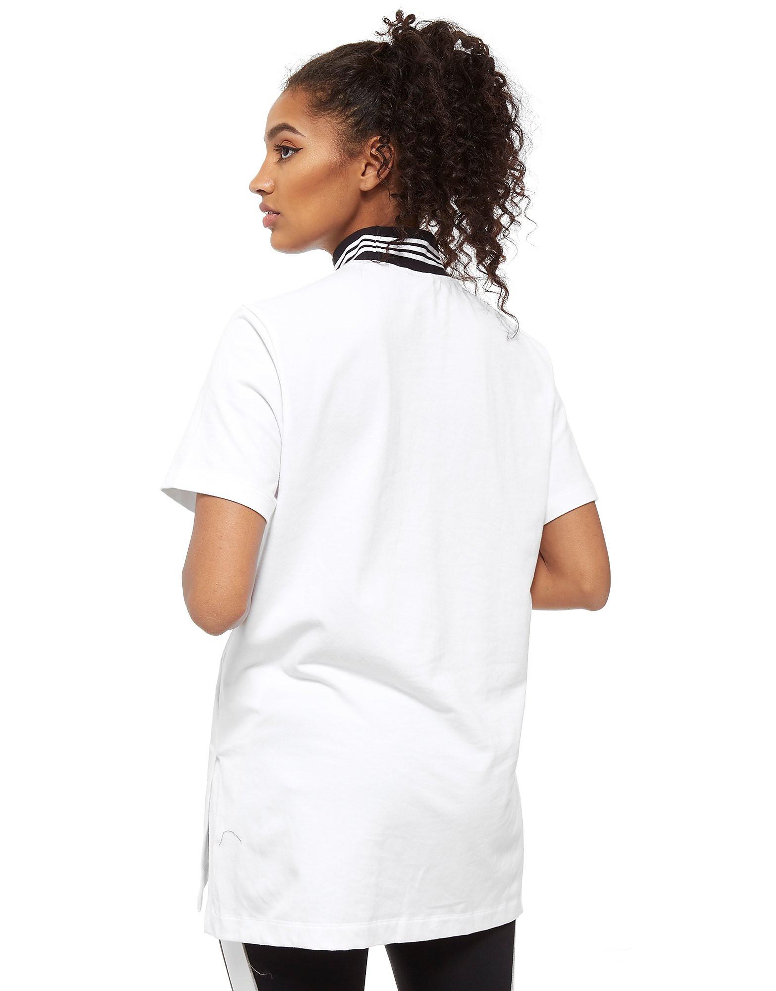 adidas Originals High Neck Short Sleeve T-Shirt Dress