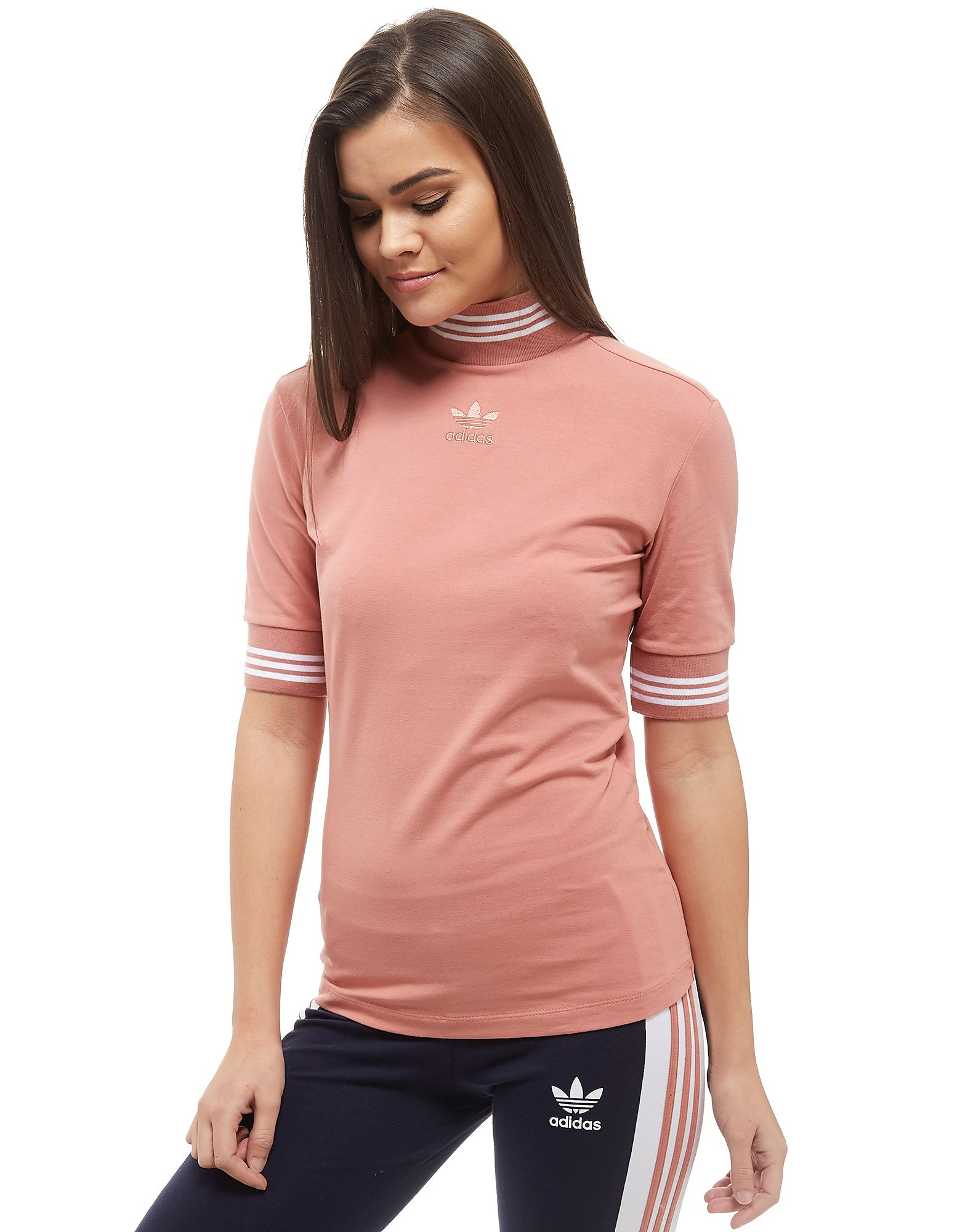 adidas Originals High Neck T-Shirt