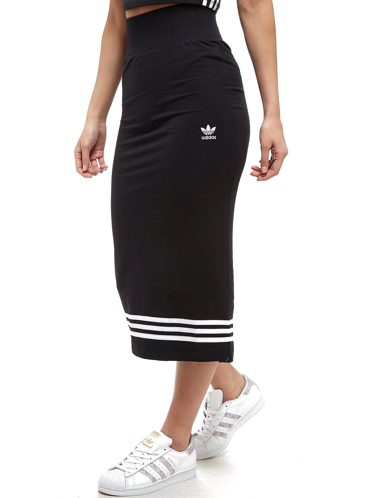 adidas Originals 3-Stripes Midi Skirt