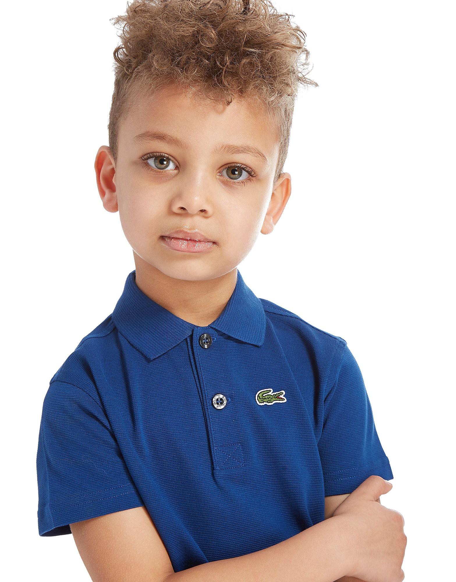 Lacoste Logo Polo Shirt Baby's - Blauw - Kind