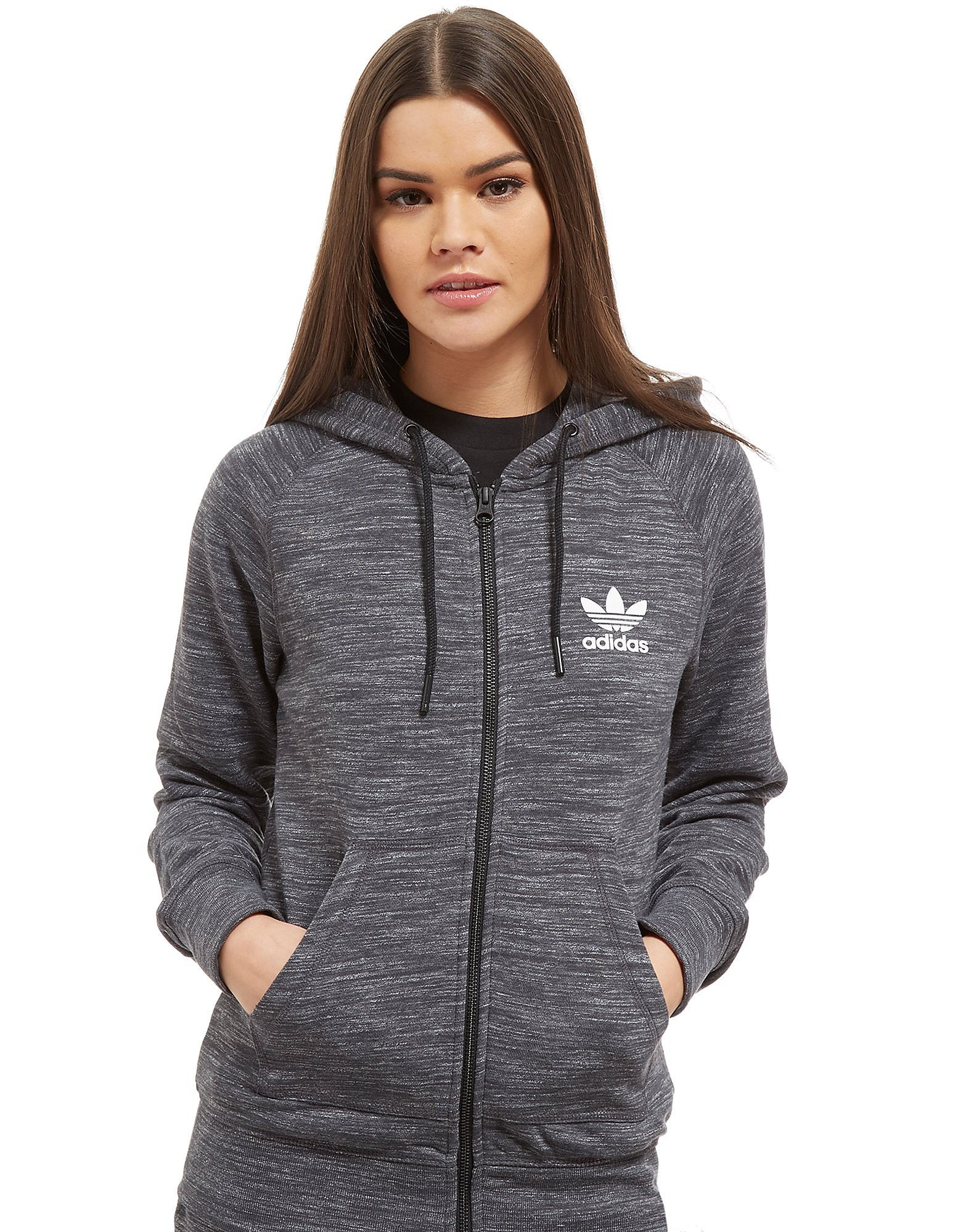 adidas Originals Premium Spacedye Full Zip Hoodie