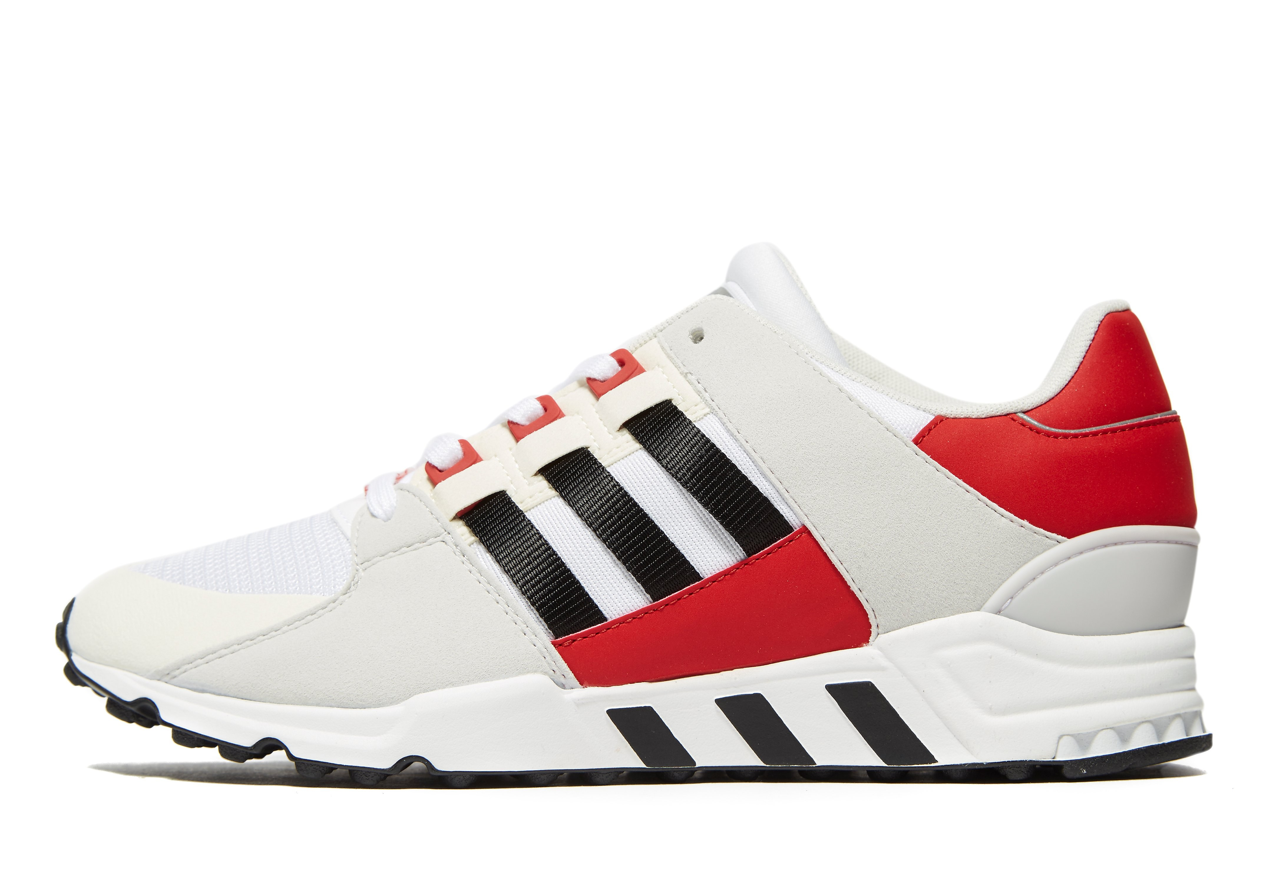 adidas Originals EQT Running Support 93 - White/Red - Mens, White/Red