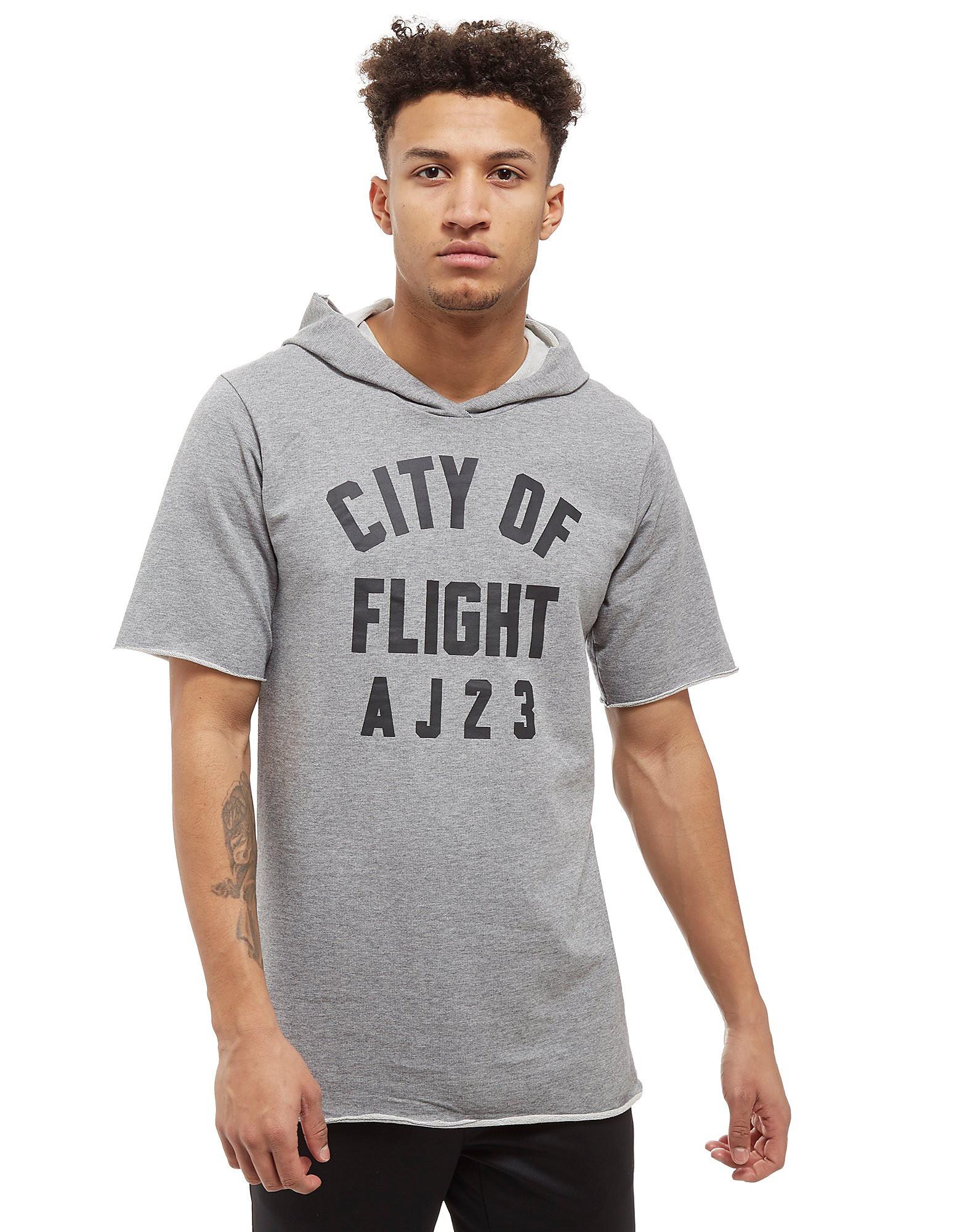 Jordan City of Flight Short Sleeve Hooded Top