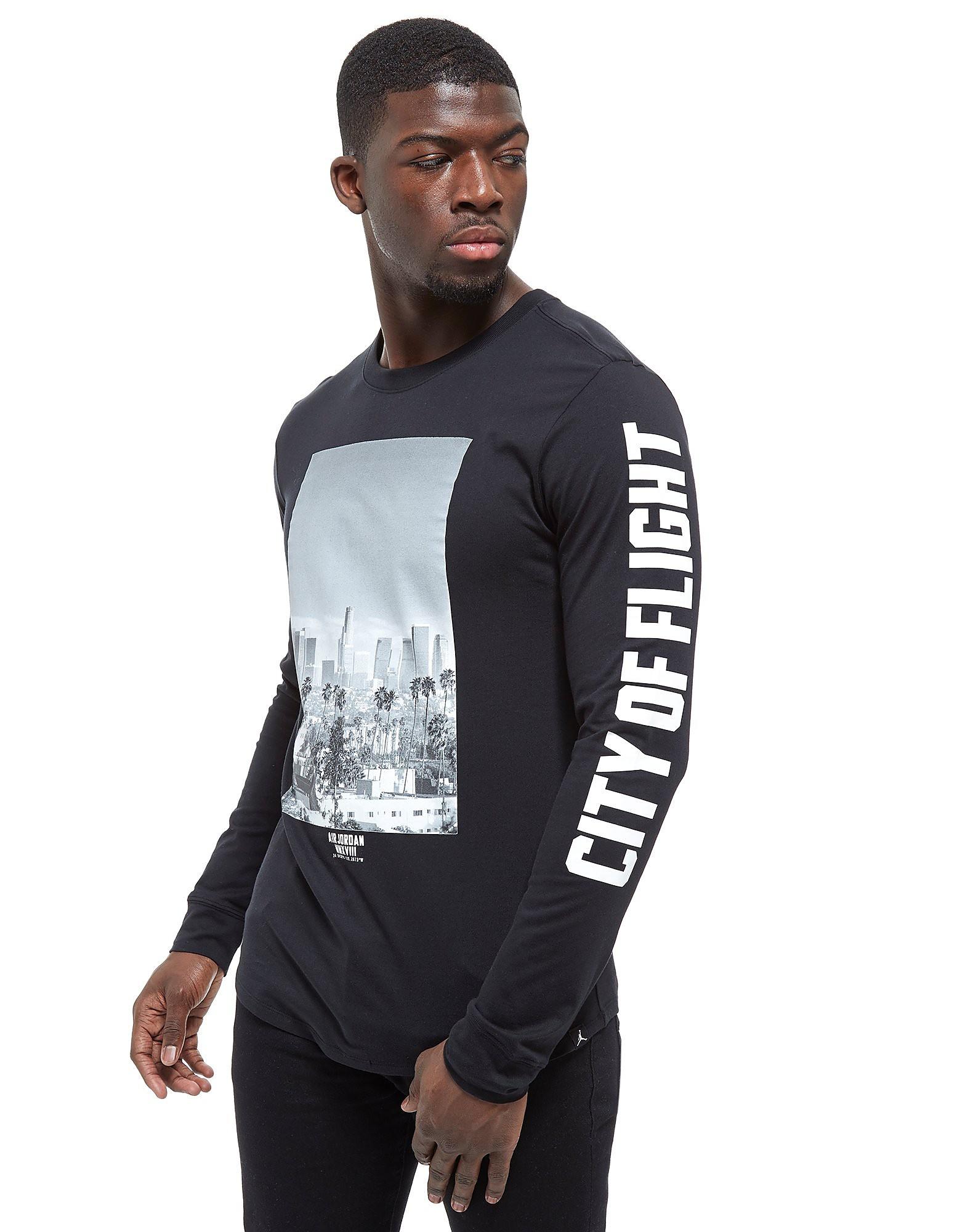 Jordan Long Sleeve City Of Flight Photo T-Shirt