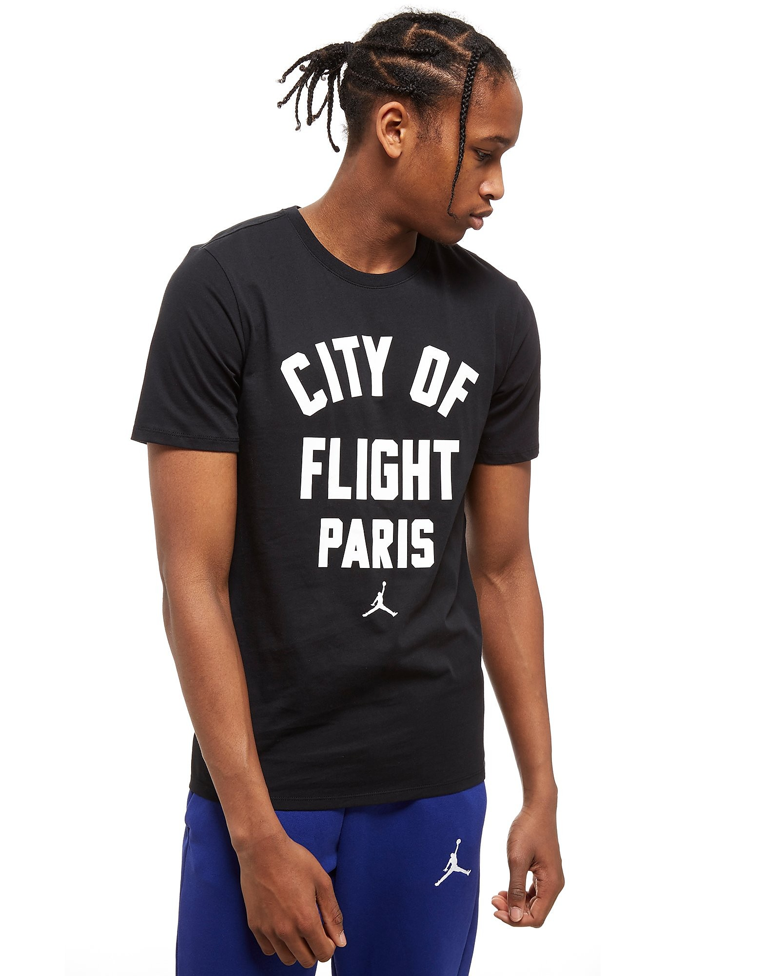 Jordan City Of Flight Paris T-Shirt Schwarz