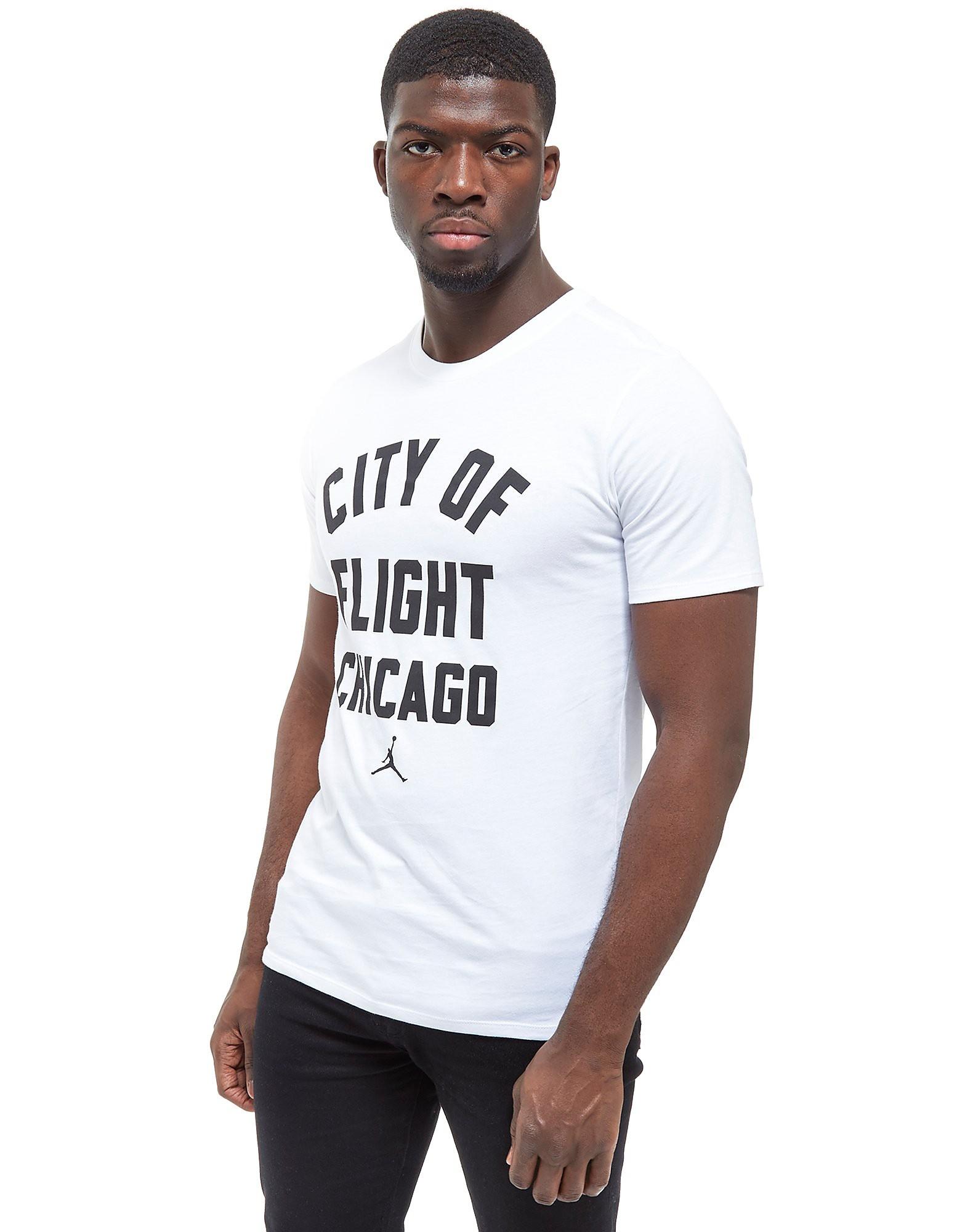 Jordan City Of Flight Chicago T-Shirt