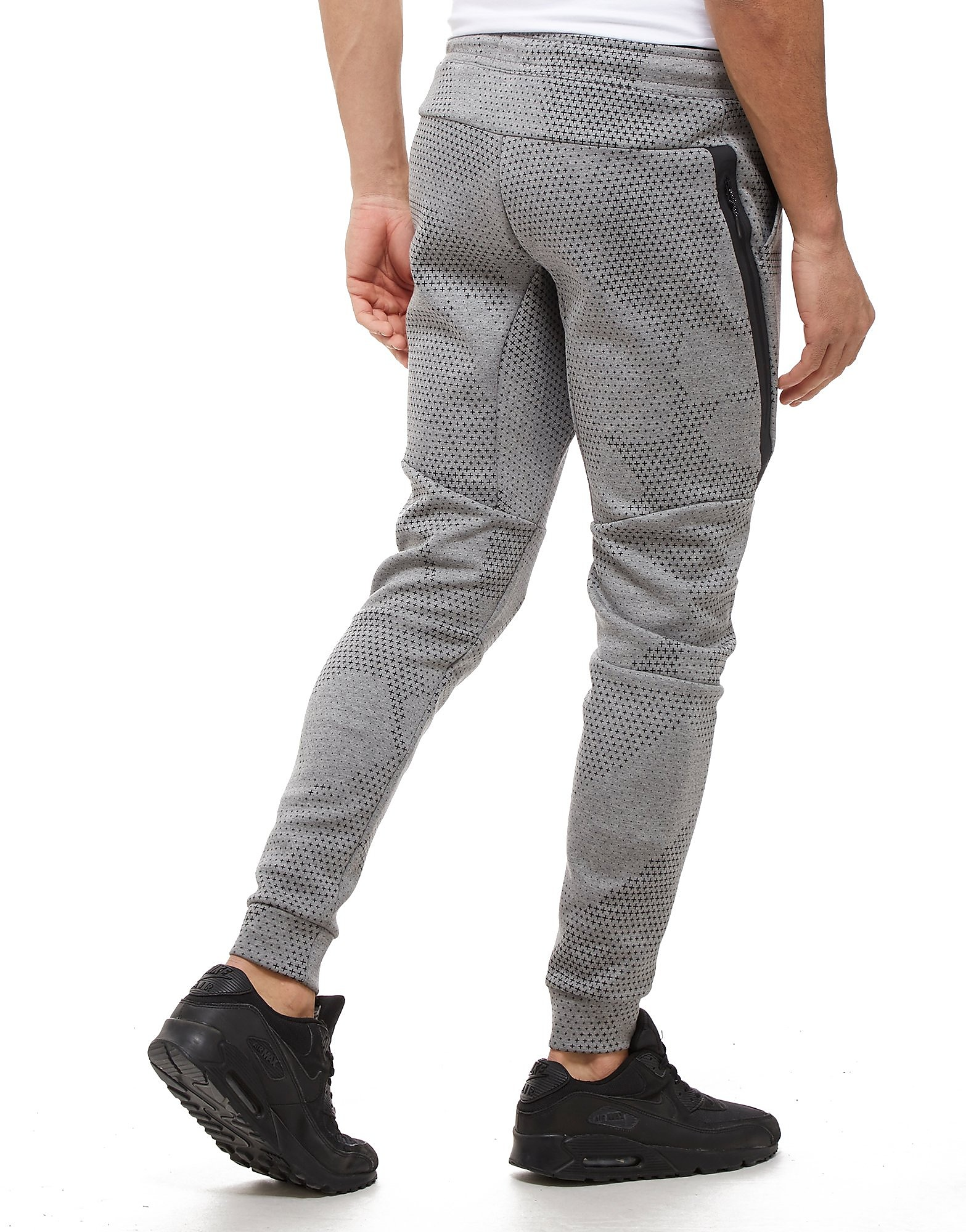 Nike Tech All Over Print Fleece Pants Heren