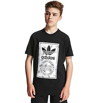 adidas Originals Tongue Superstar T-Shirt Junior