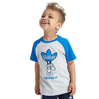 adidas Originals Superstar Trefoil T-Shirt Infant