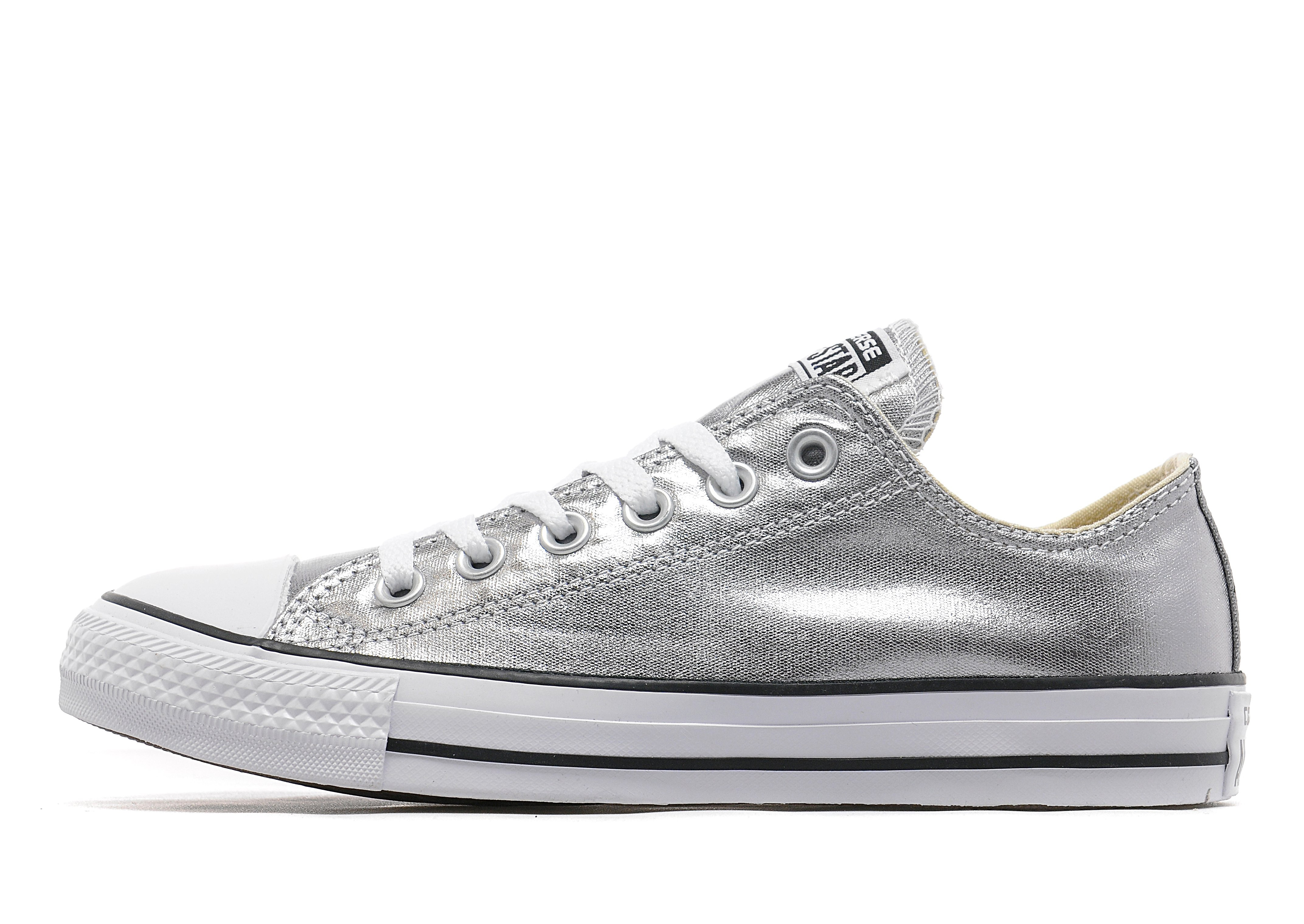 cc436cfb27cfe9 Converse All Star Ox Women s - Silver - Womens - Sports King Store