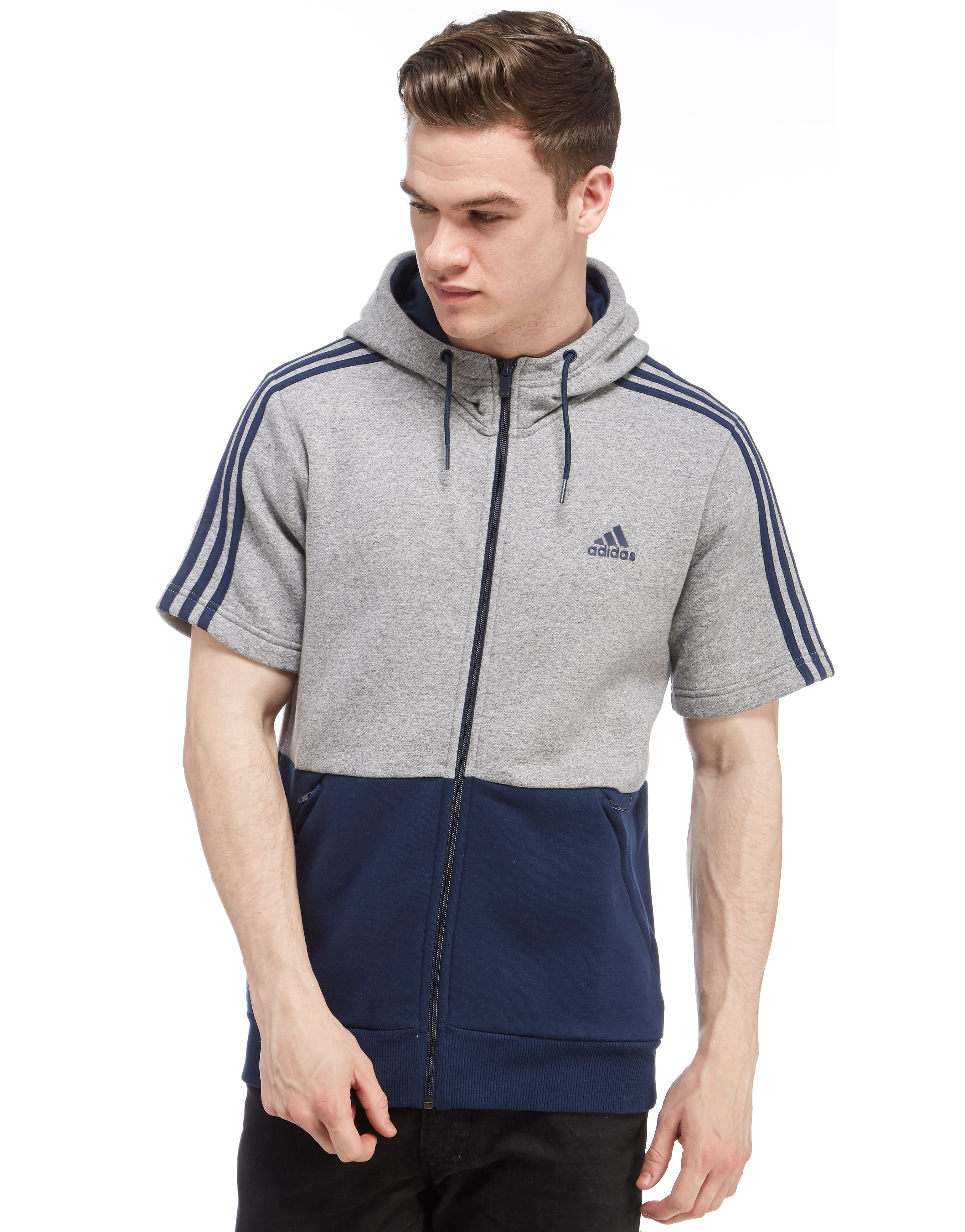 adidas Linear Short Sleeve Hoody
