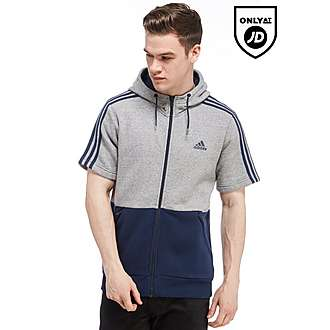 adidas Linear Short Sleeve Hoody