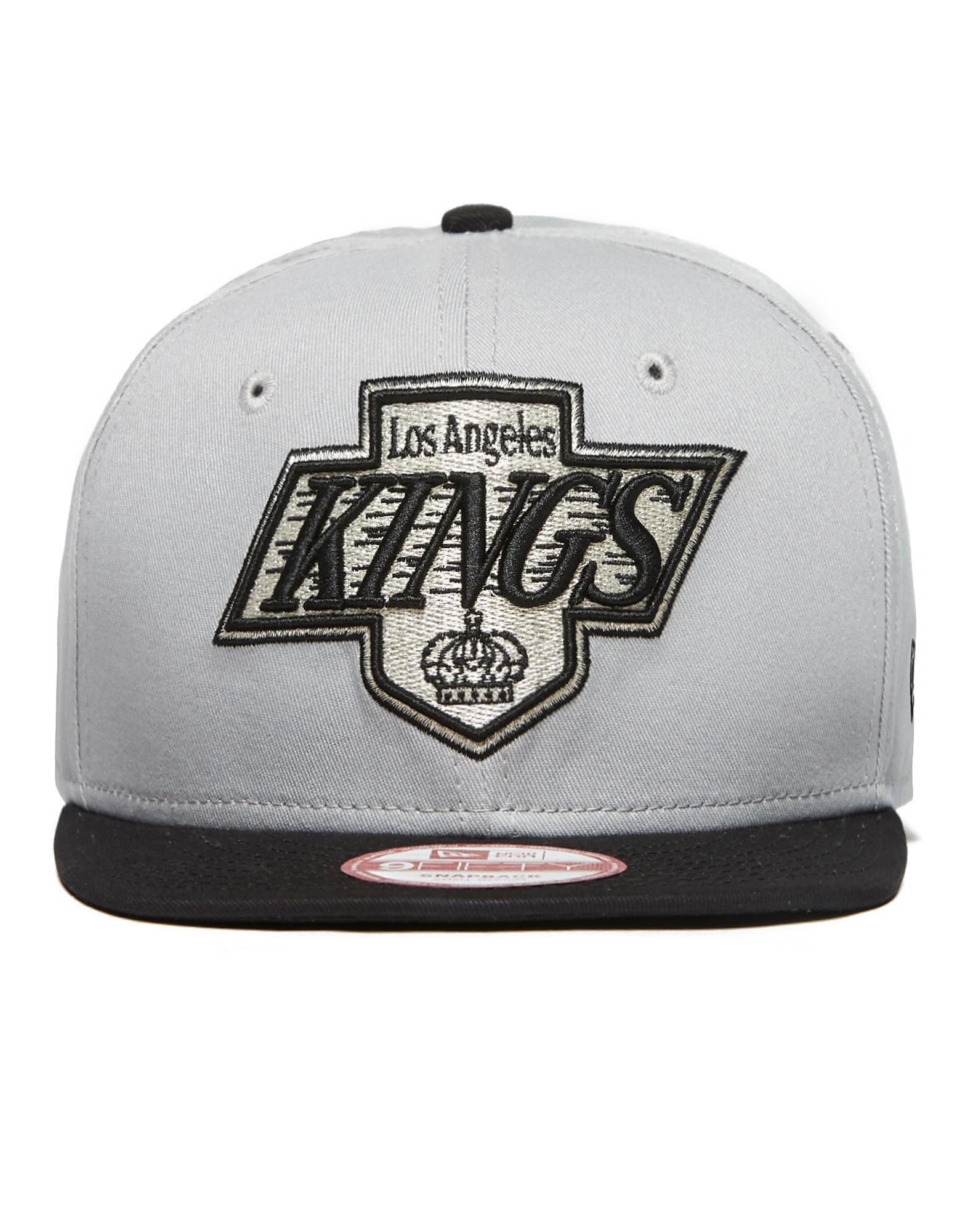 New Era NHL LA Kings Cotton-Block Snapback Kappe