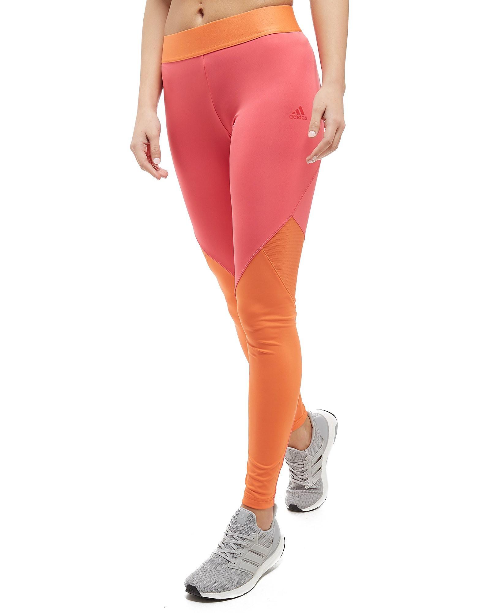 adidas Collants Climacool Logo Femme - Orange/Pink, Orange/Pink