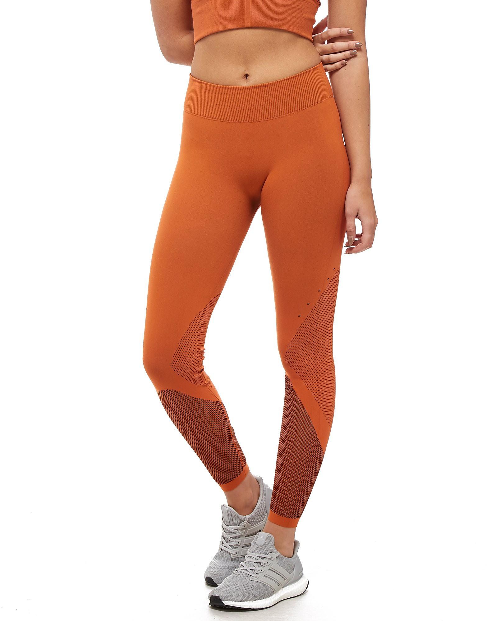 adidas Warp Knit Tights - Oranje - Dames