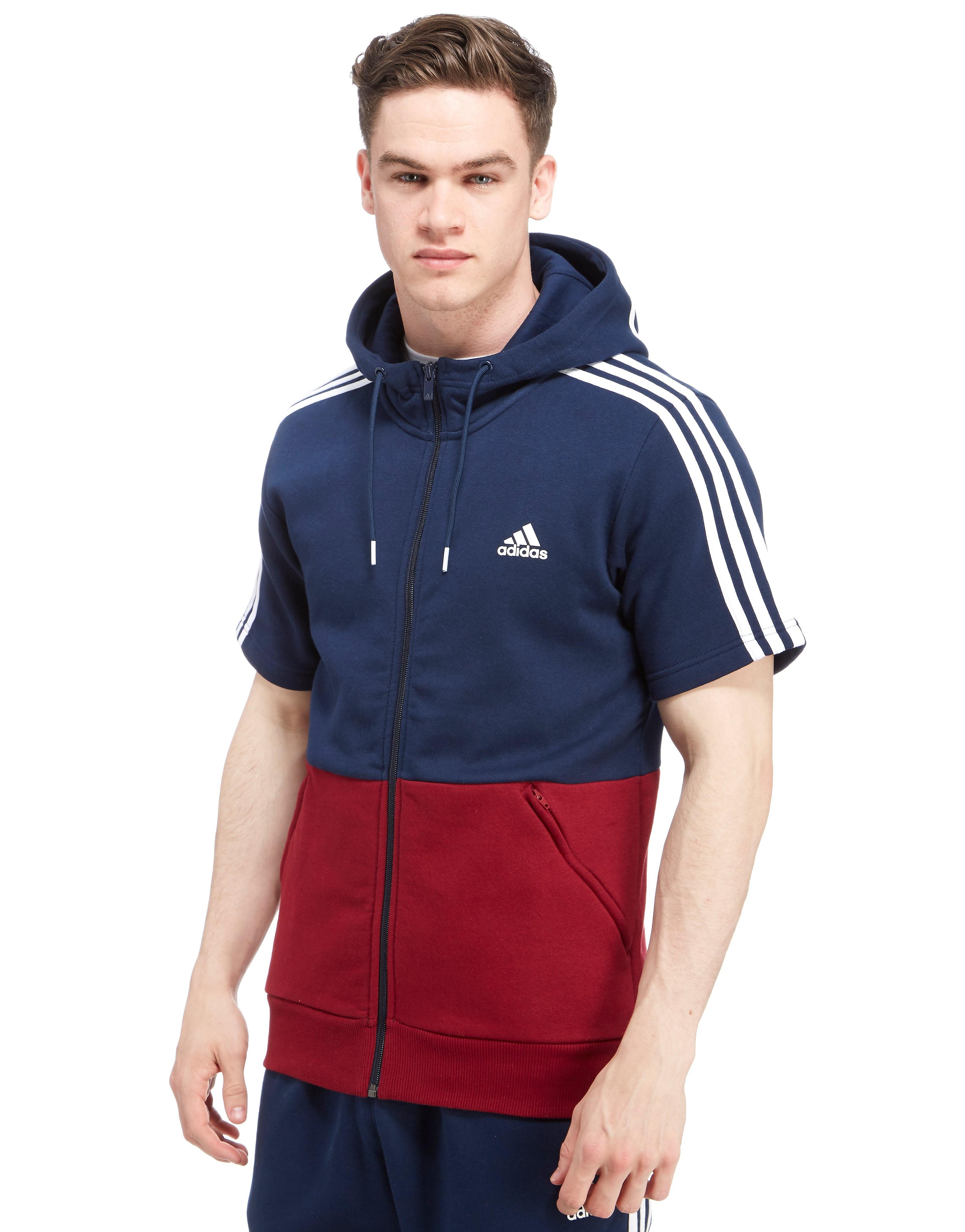 adidas Linear Sleeveless Full Zip Hoody