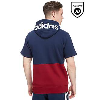 adidas Linear Sleeveless Full Zip Hoody