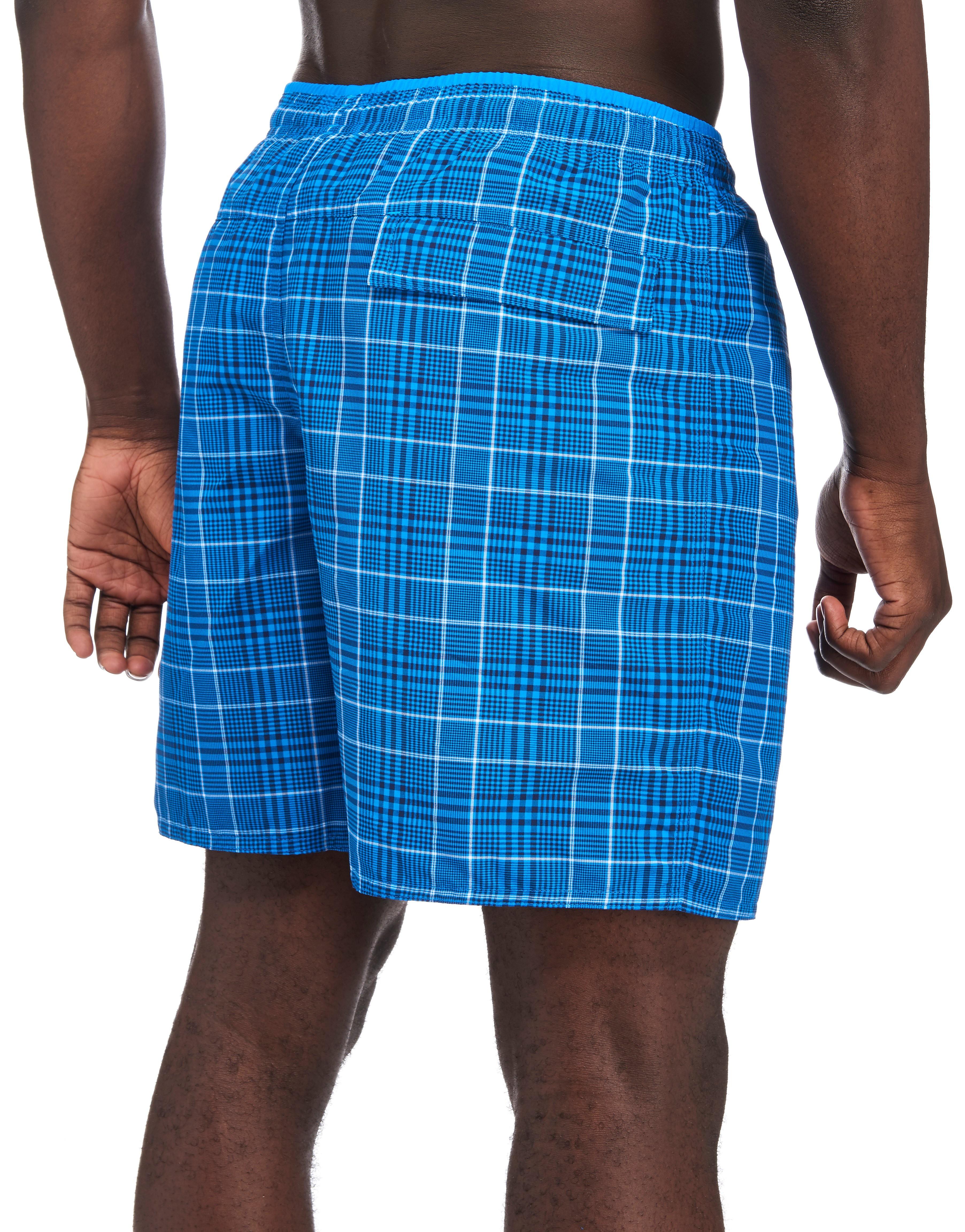 adidas Check Swim Shorts