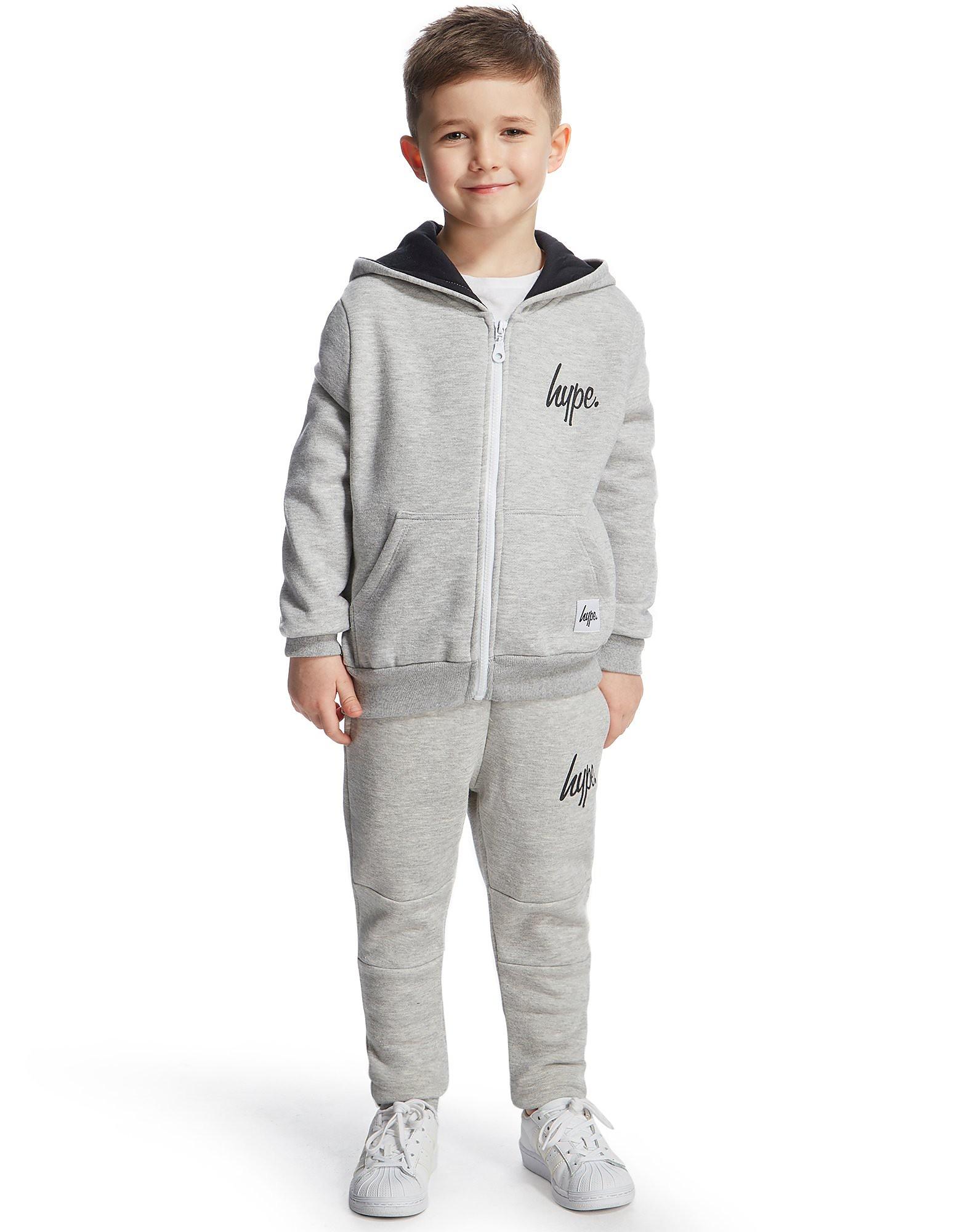 Hype Script Fleece Suit Children